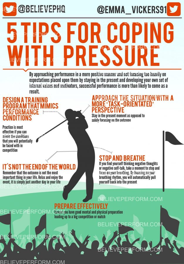 5 tips for coping with pressure