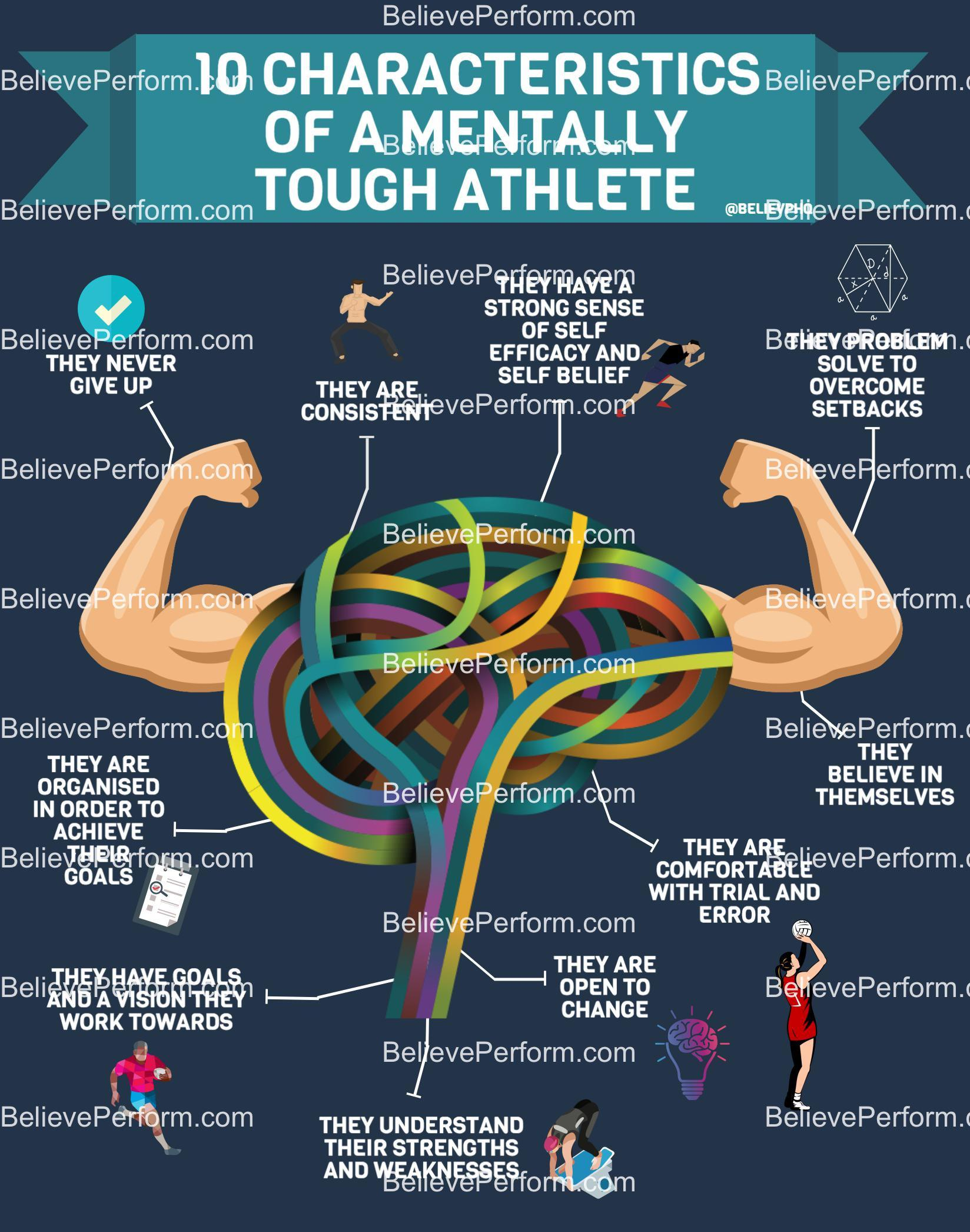 10 characteristics of a mentally tough athlete