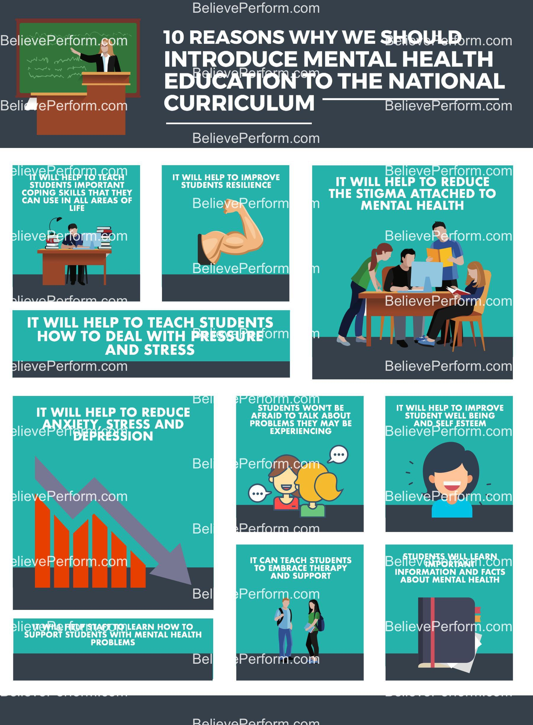 10 reasons why we should introduce mental health education to the national curriculum