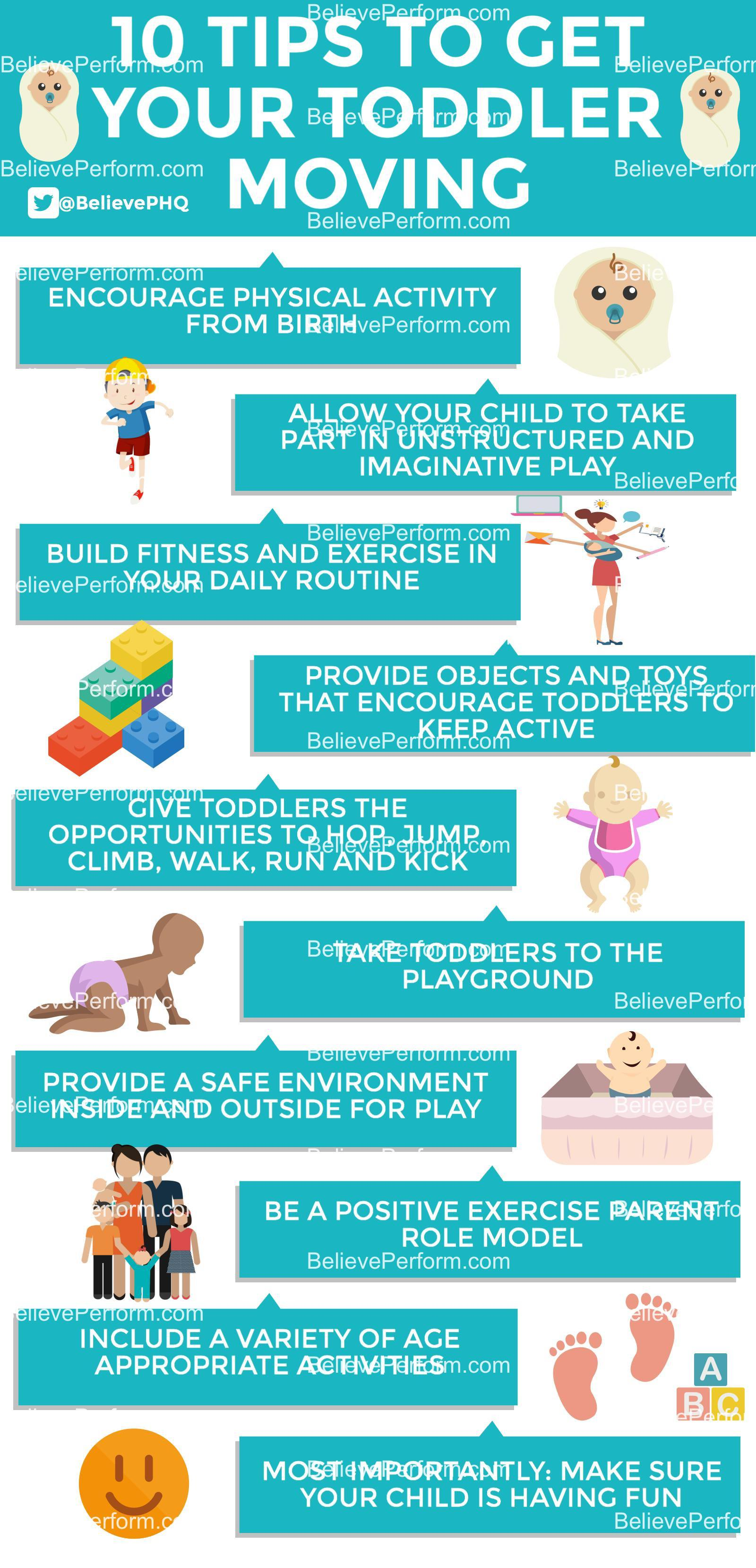 10 tips to get your toddler moving