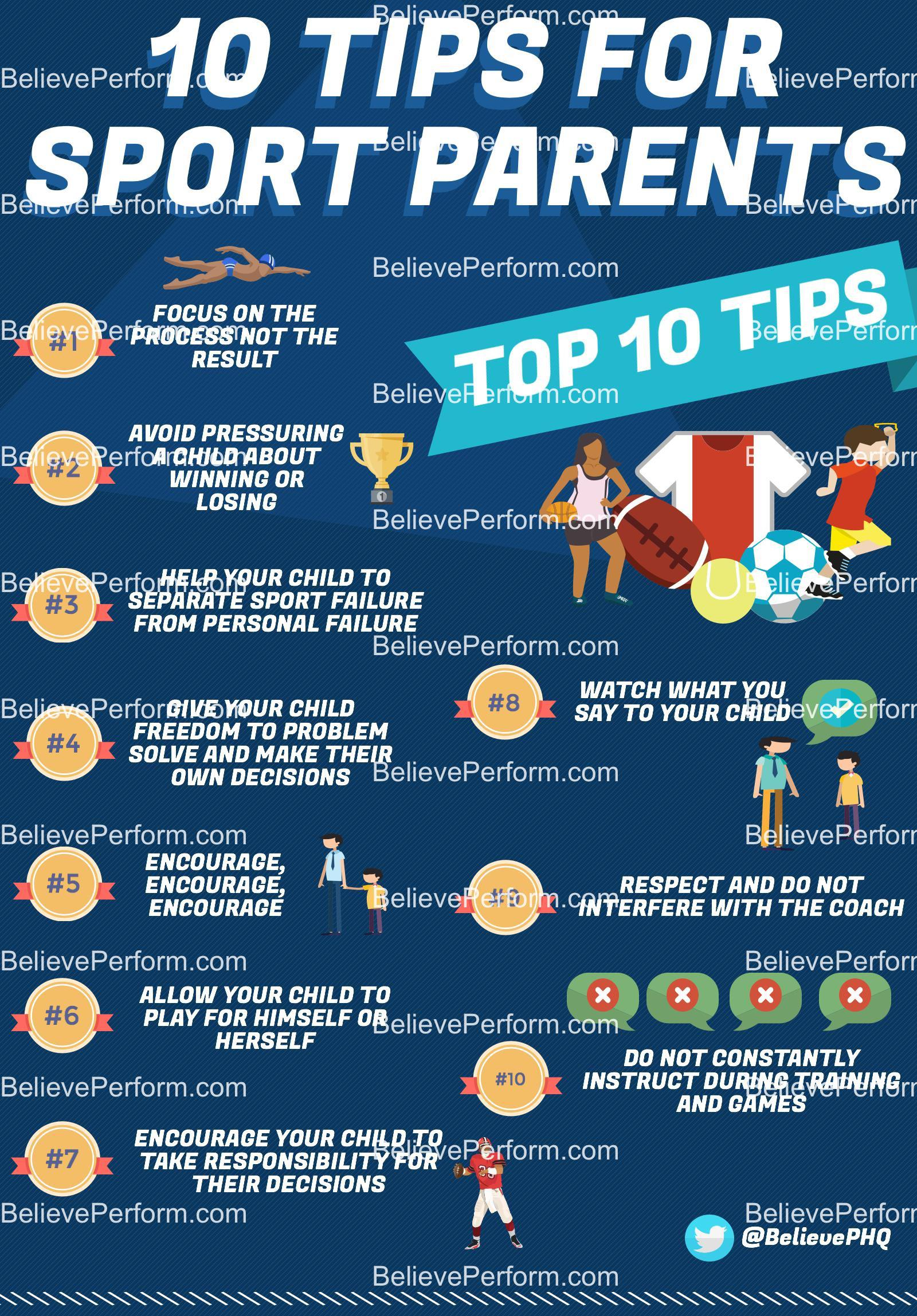 10 top tips for sport parents