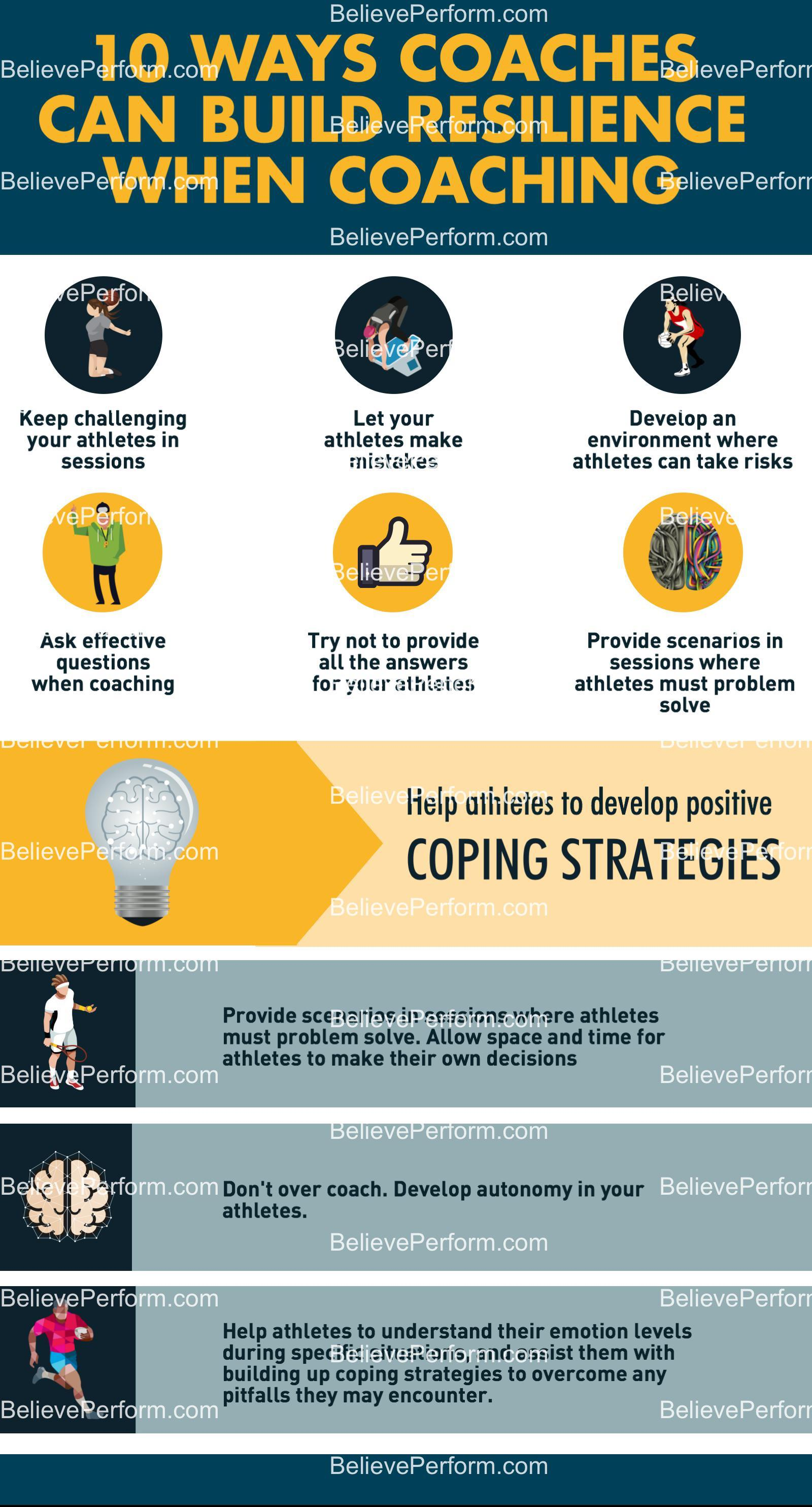10 ways coaches can build resilience when coaching