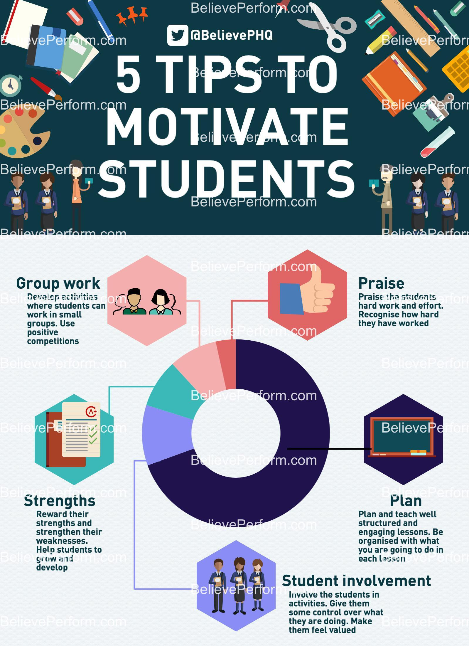 5 tips to motivate students