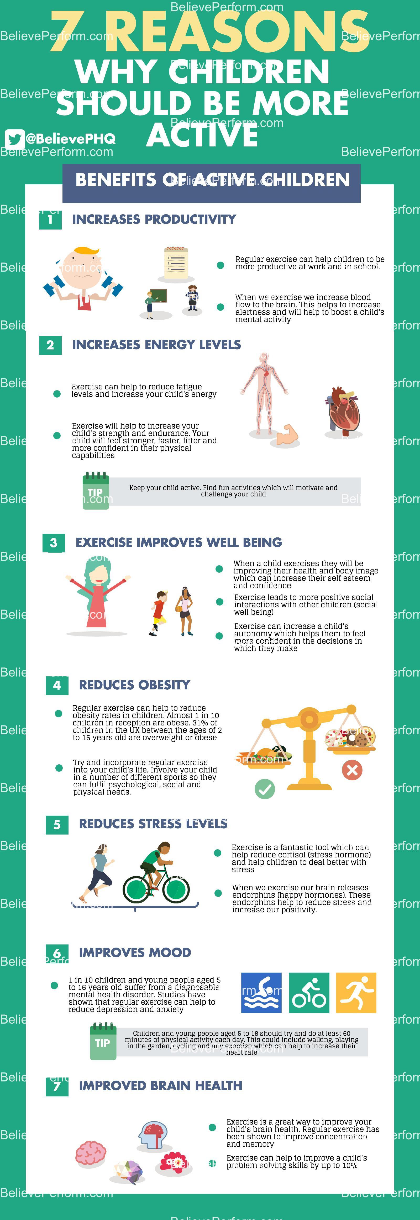 7 reasons why children should be more active