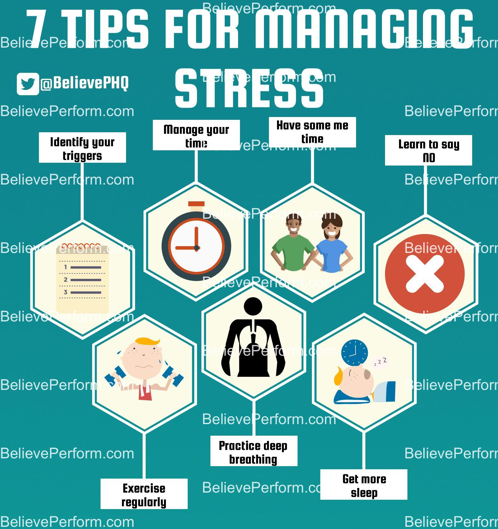 7 tips for managing stress