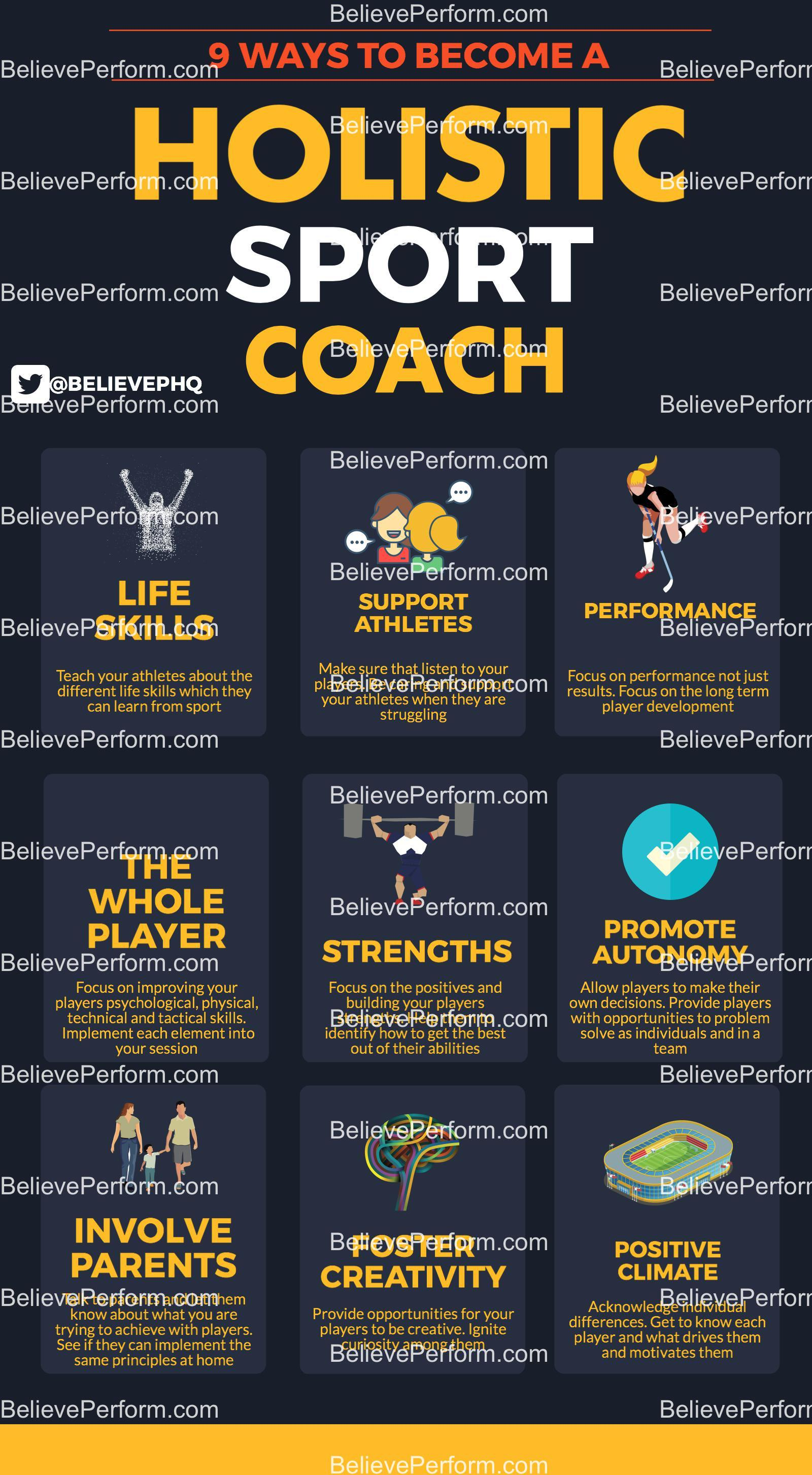 9 ways to become a holistic sport coach