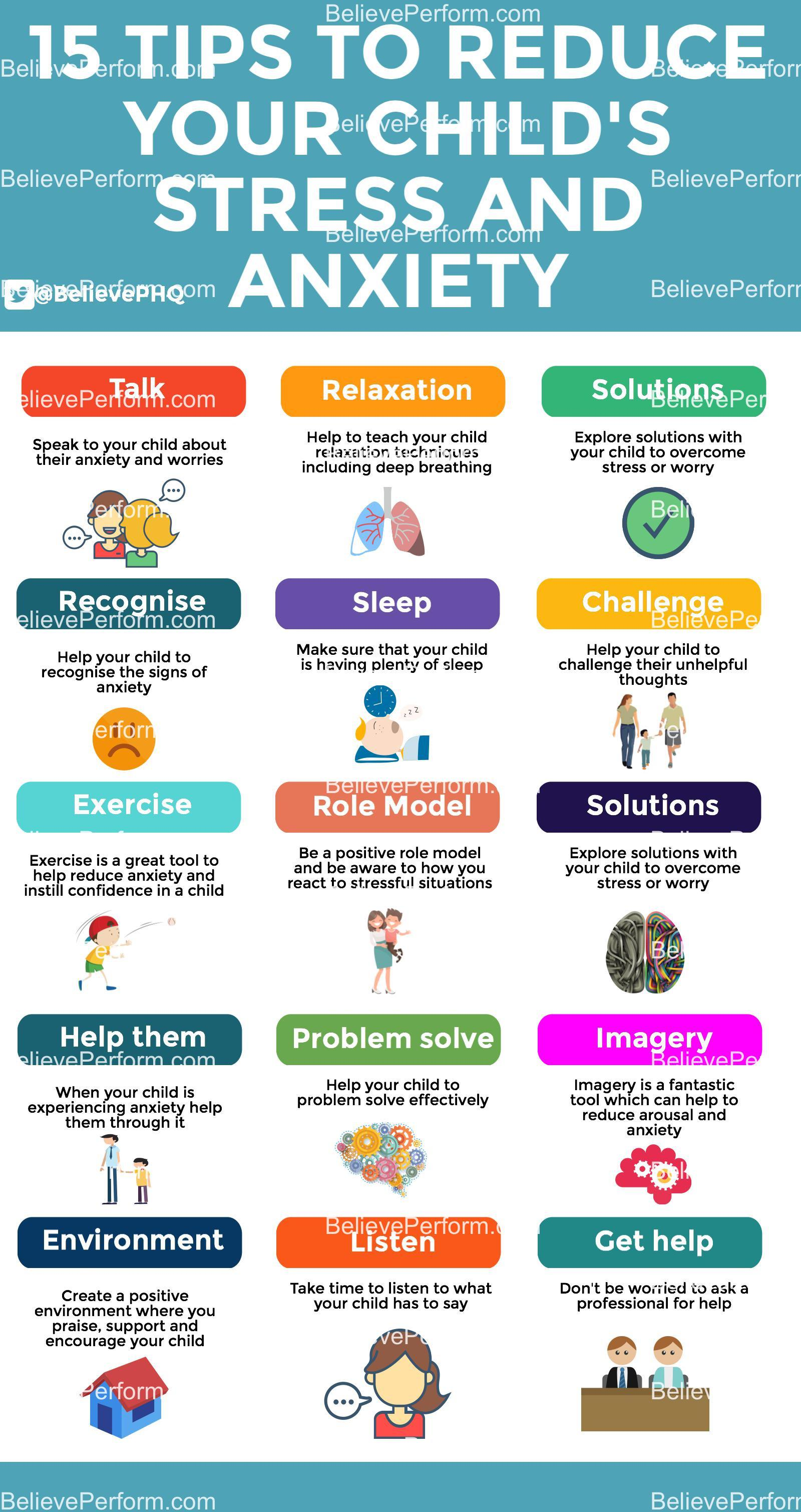15 tips to reduce your childs stress and anxiety - The UK