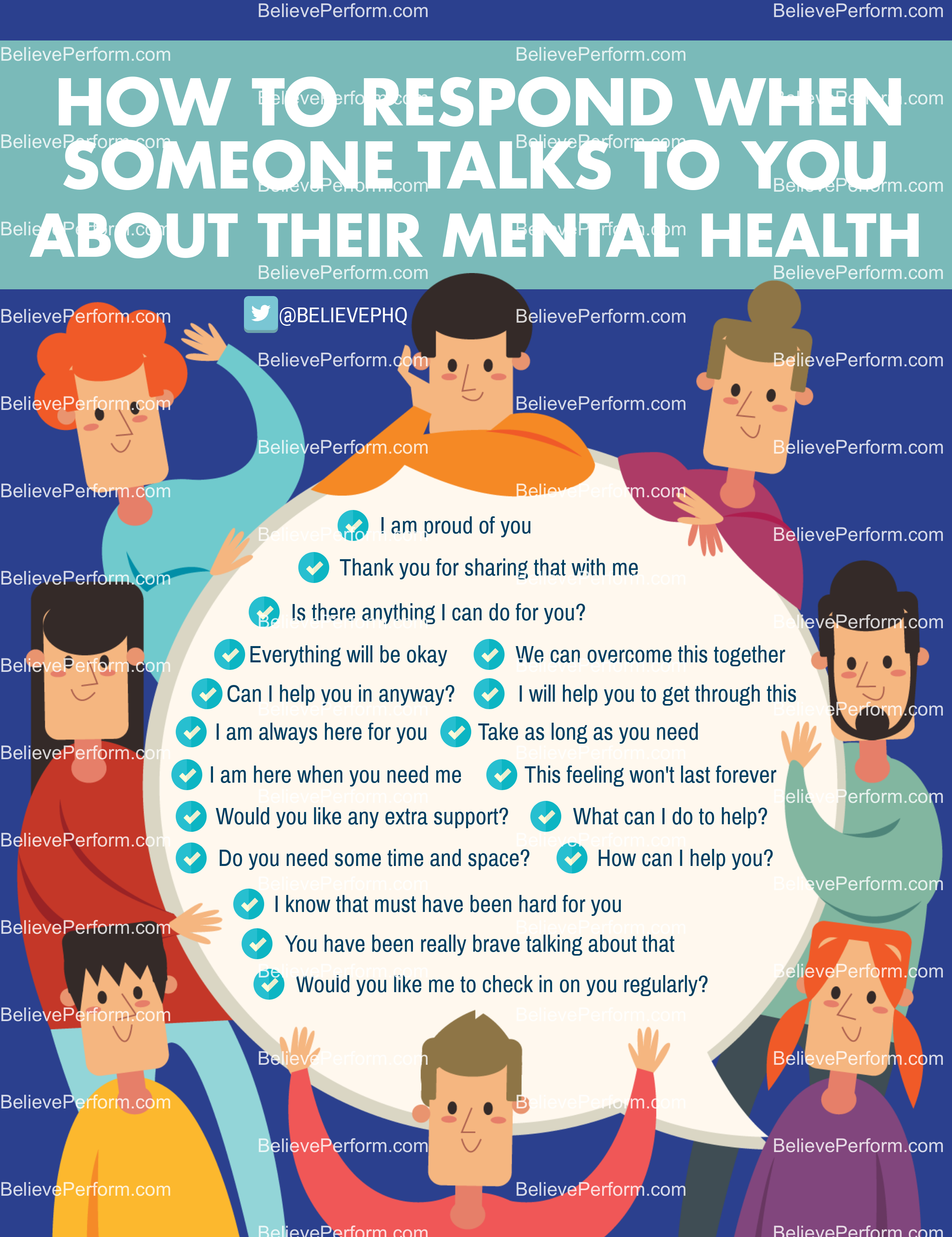 how to ask someone about their mental health