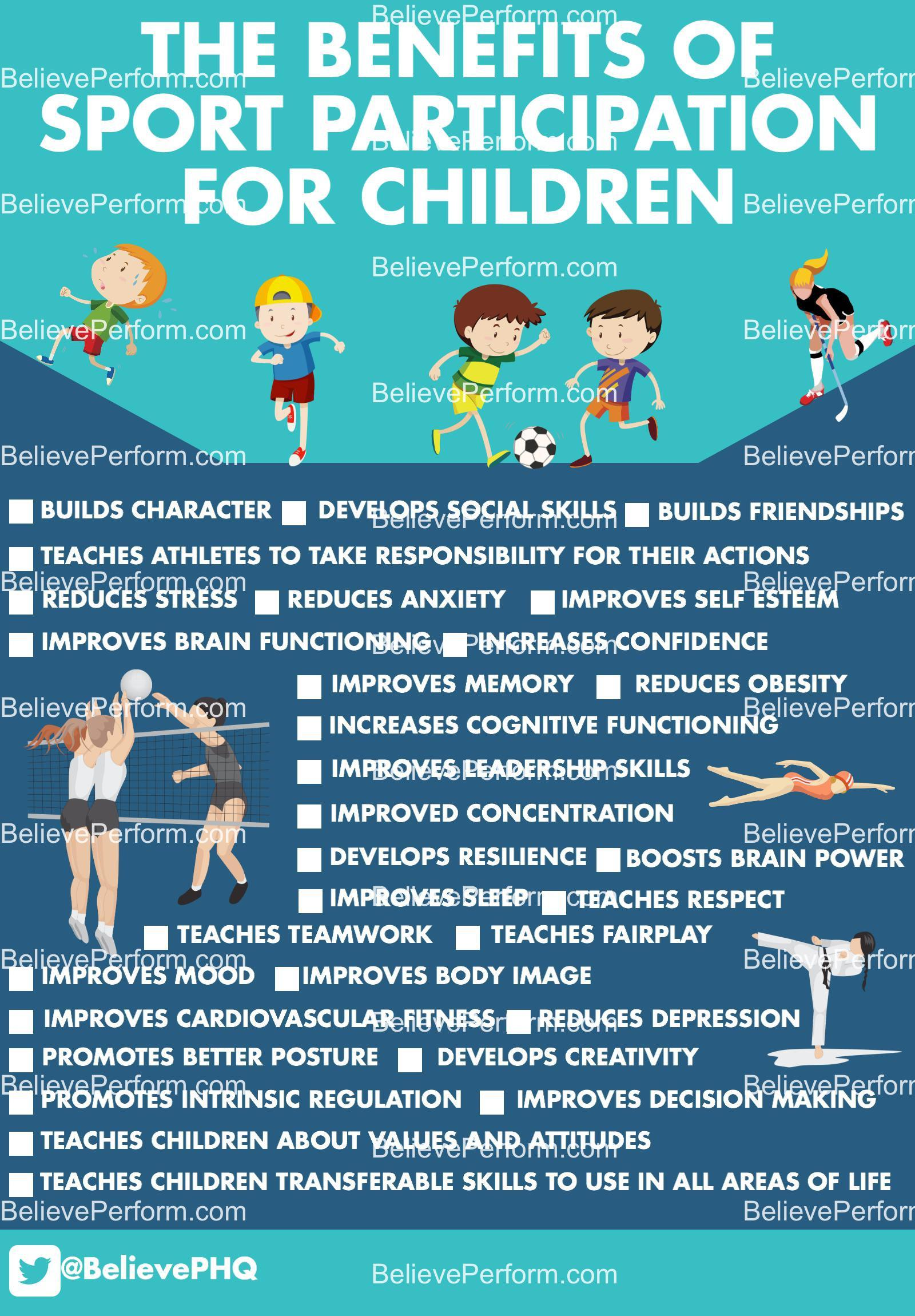 Top 10 Health Benefits of Youth Sports