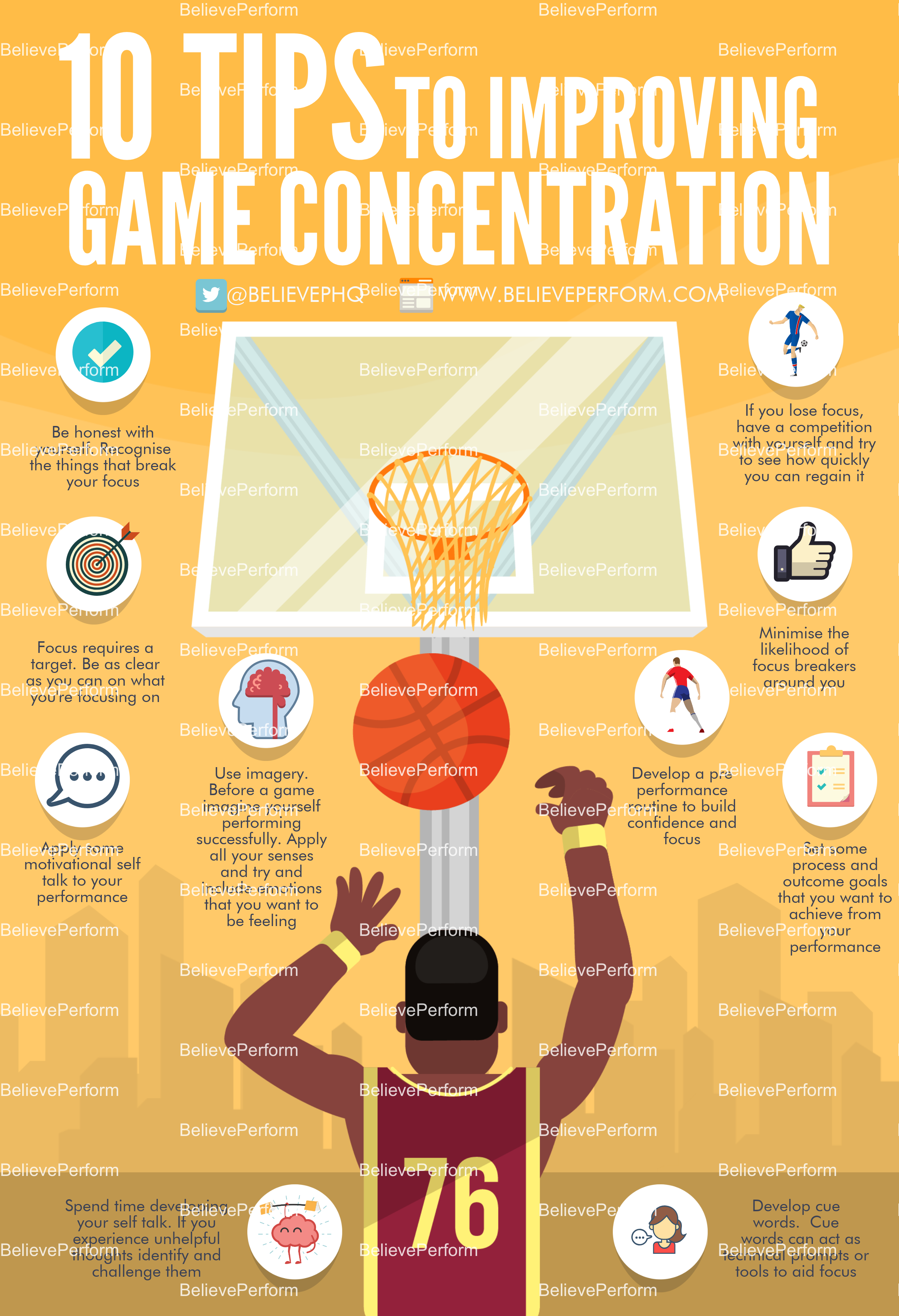 10 tips to improving game concentration