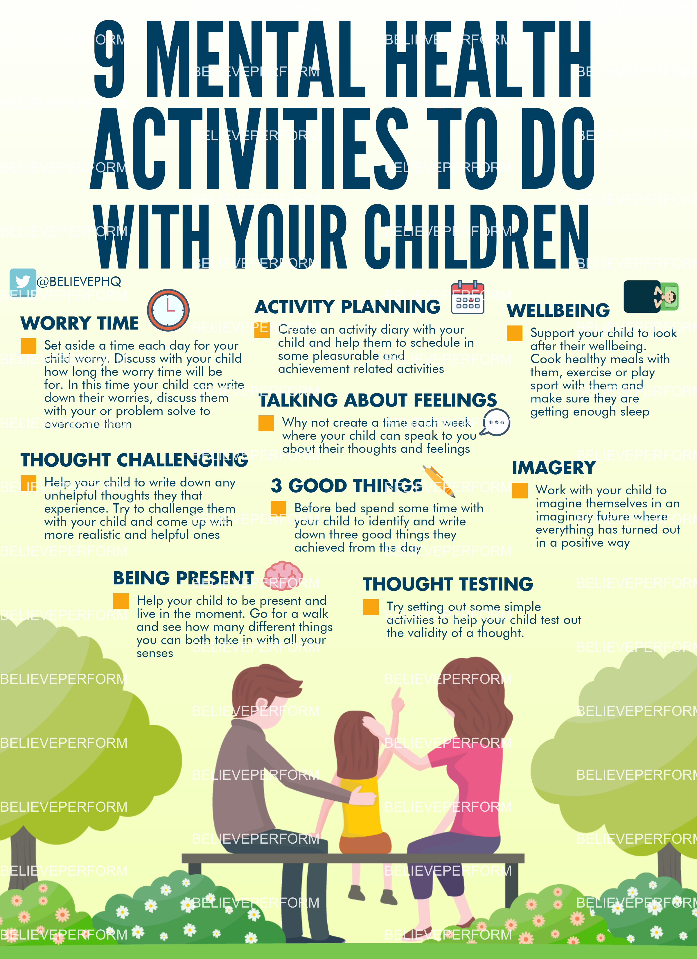 9 mental health activities to do with your children - The ...