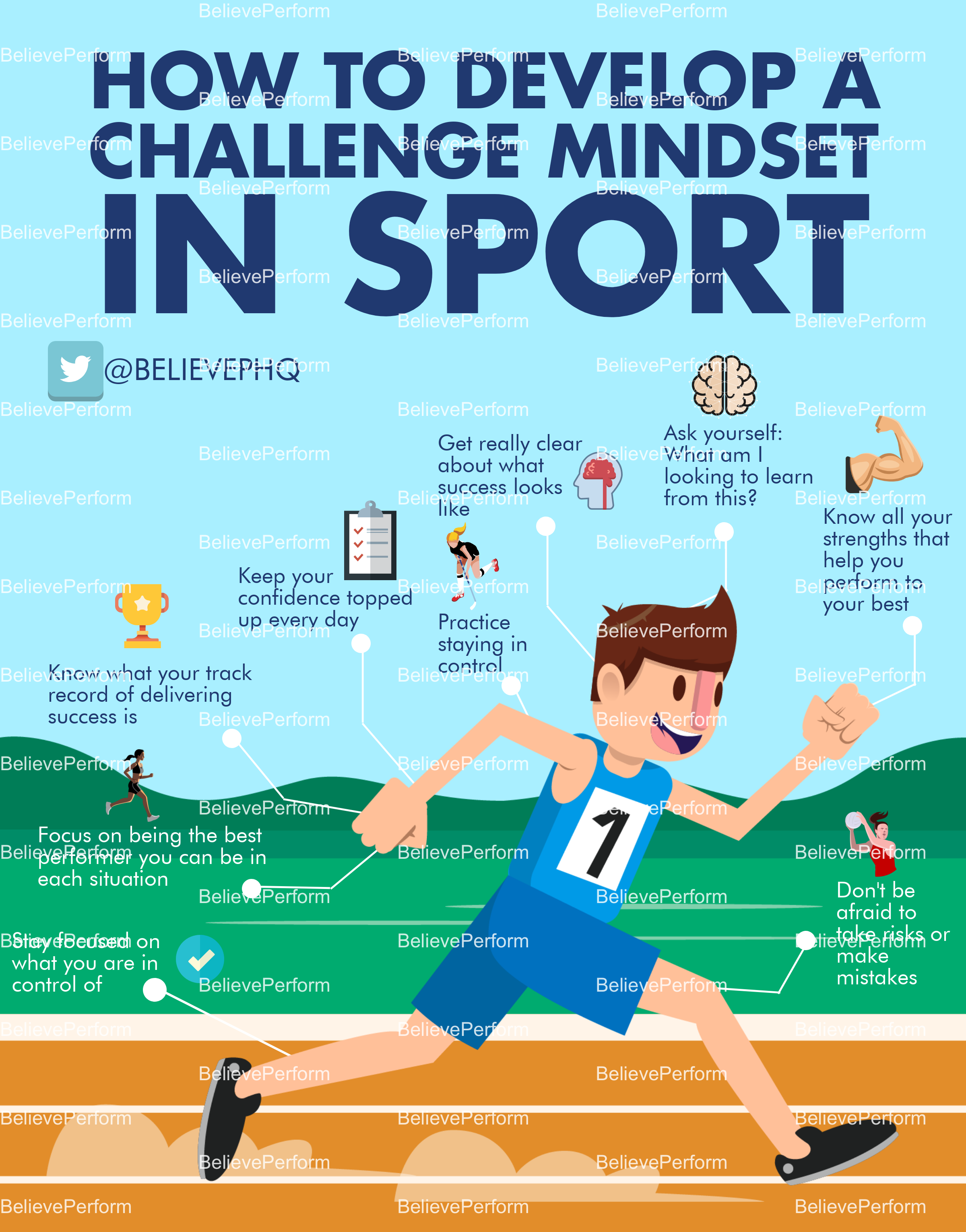 How to develop a challenge mindset in sport