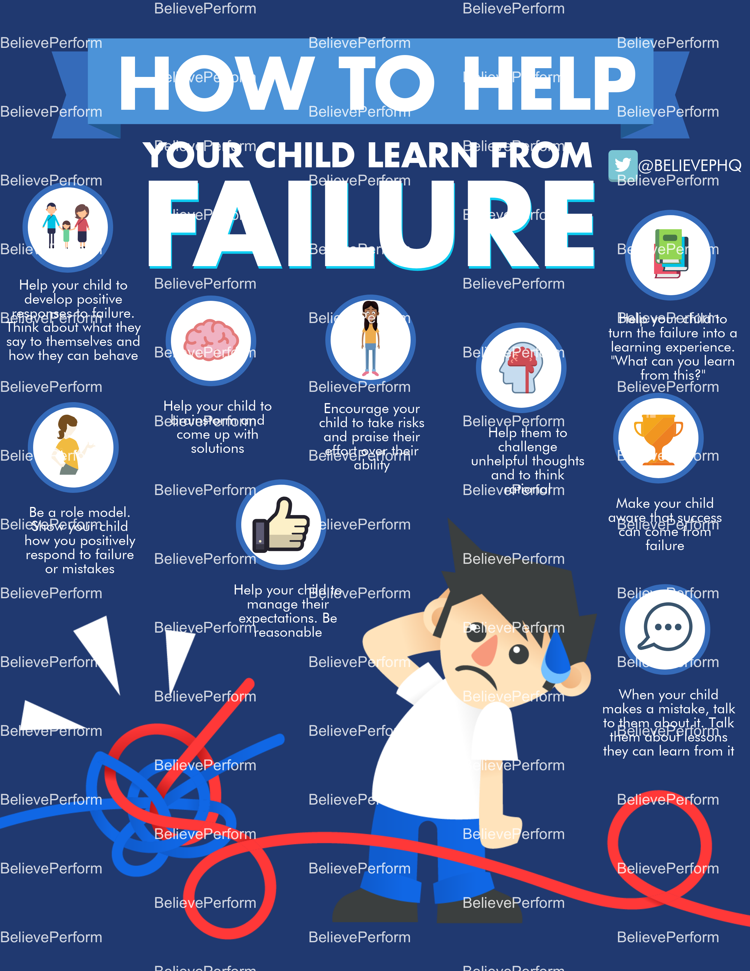 How to help your child learn from failure