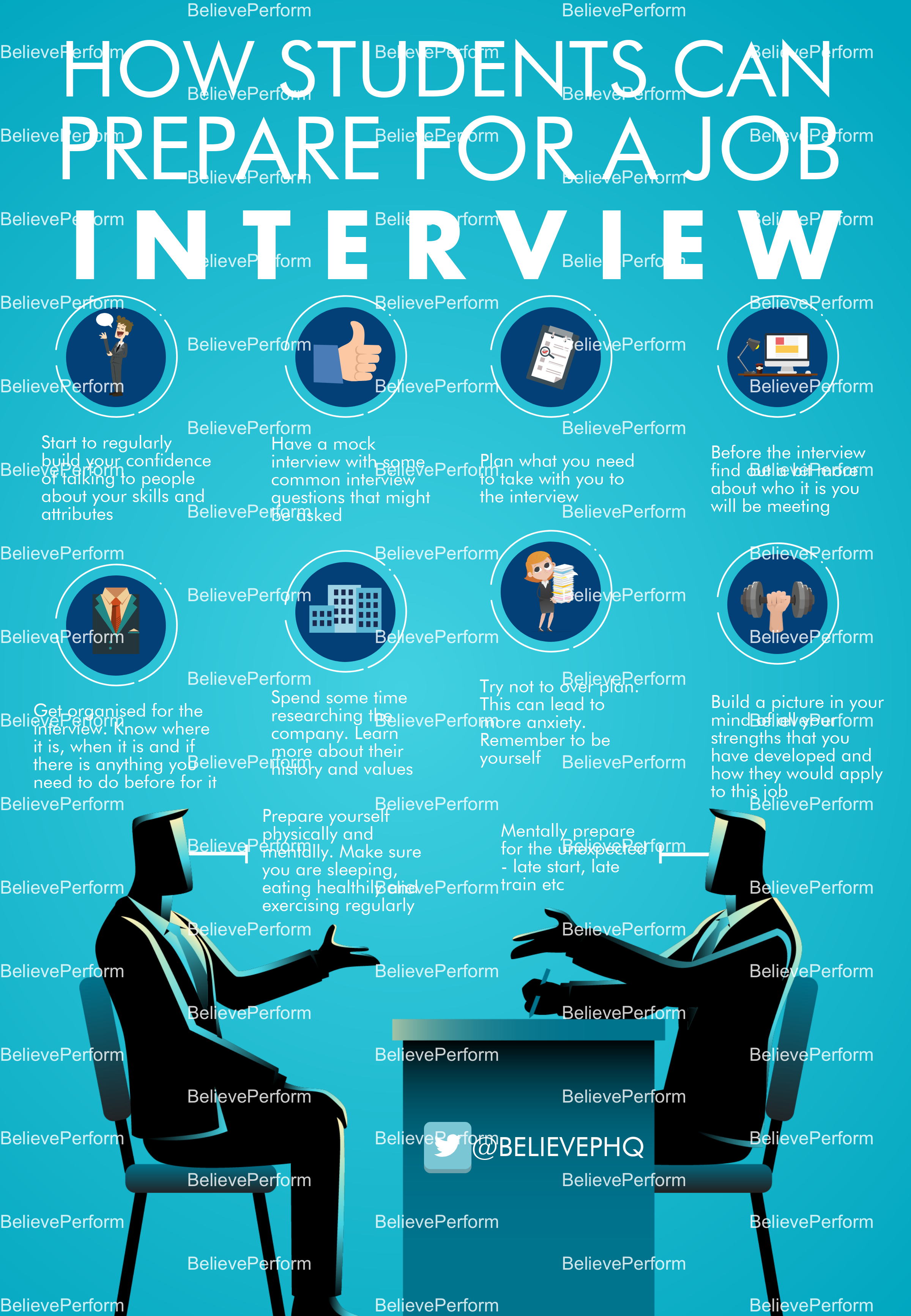 How students can prepare for a job interview