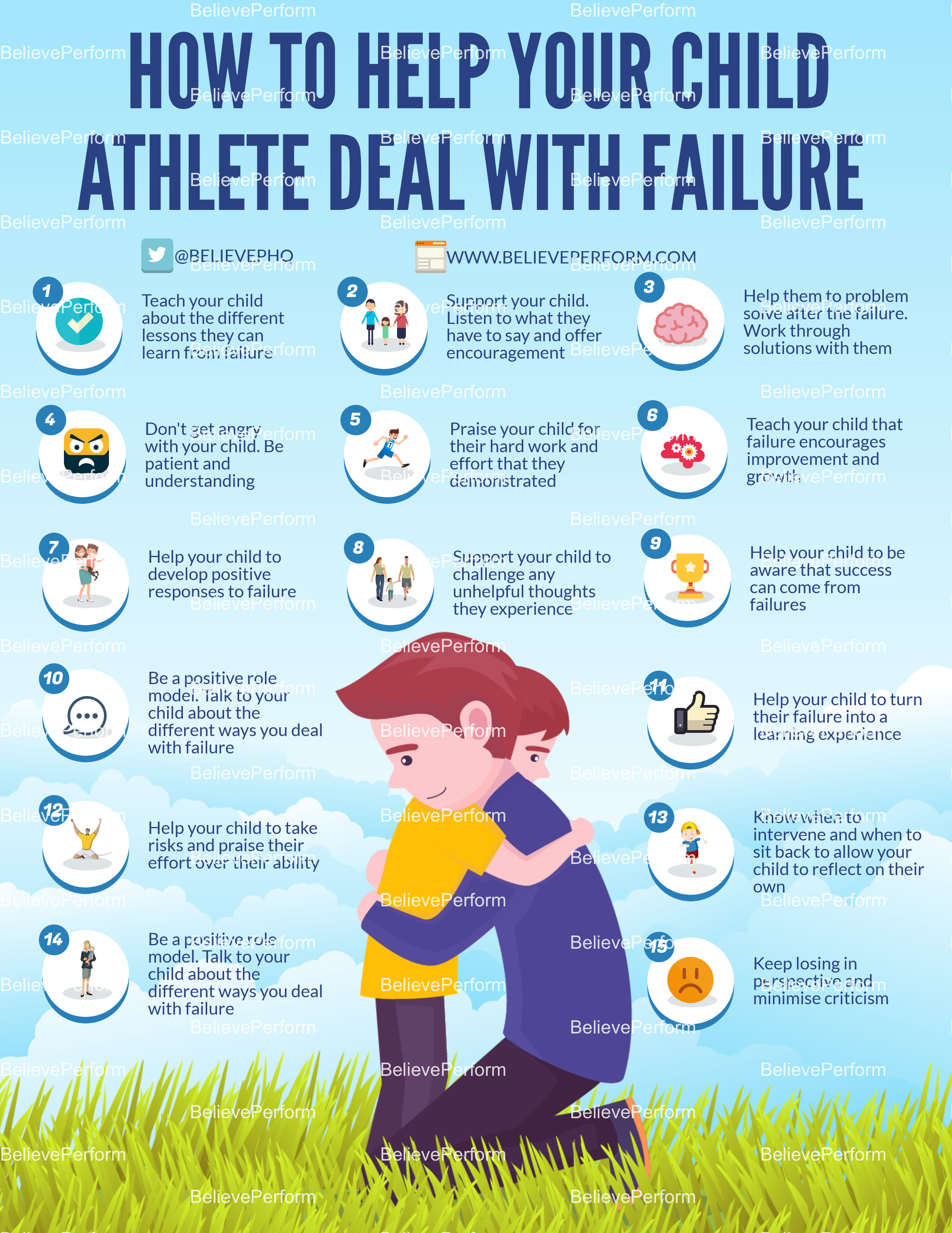 How to help your child athlete deal with failure
