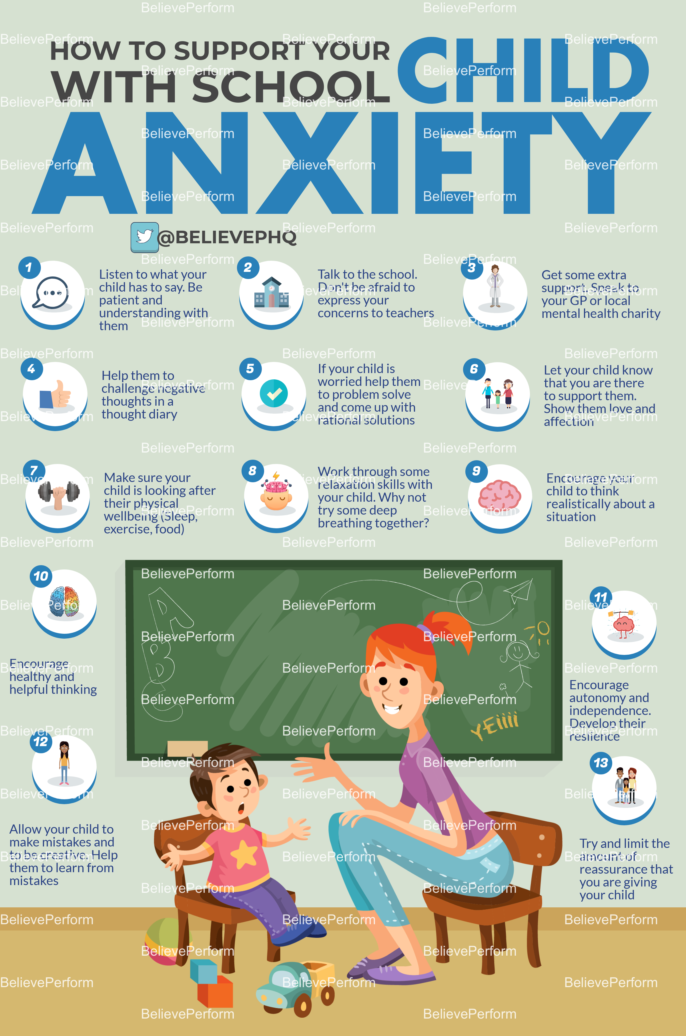 How to support your child with school anxiety