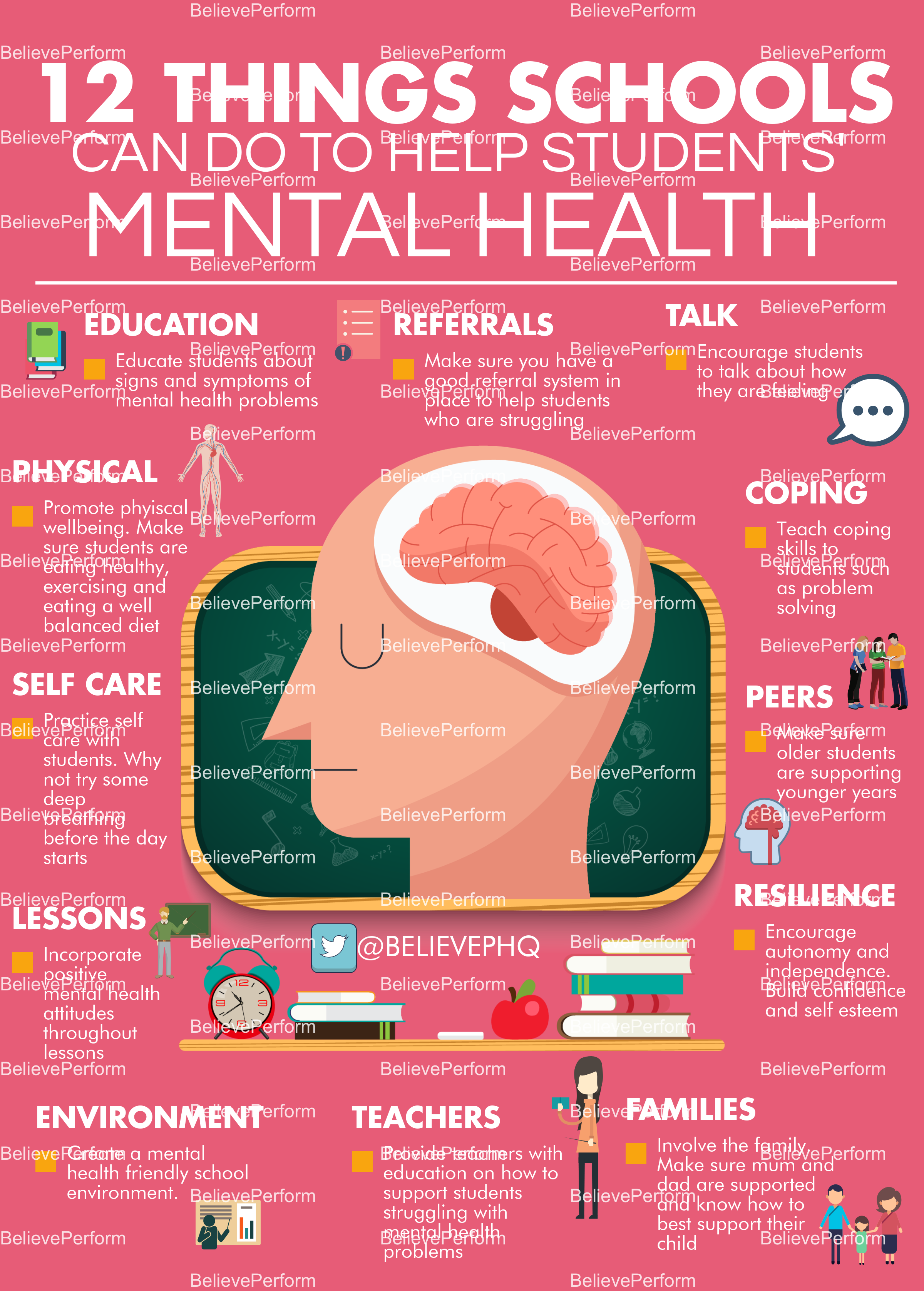 12 things schools can do to help students mental health