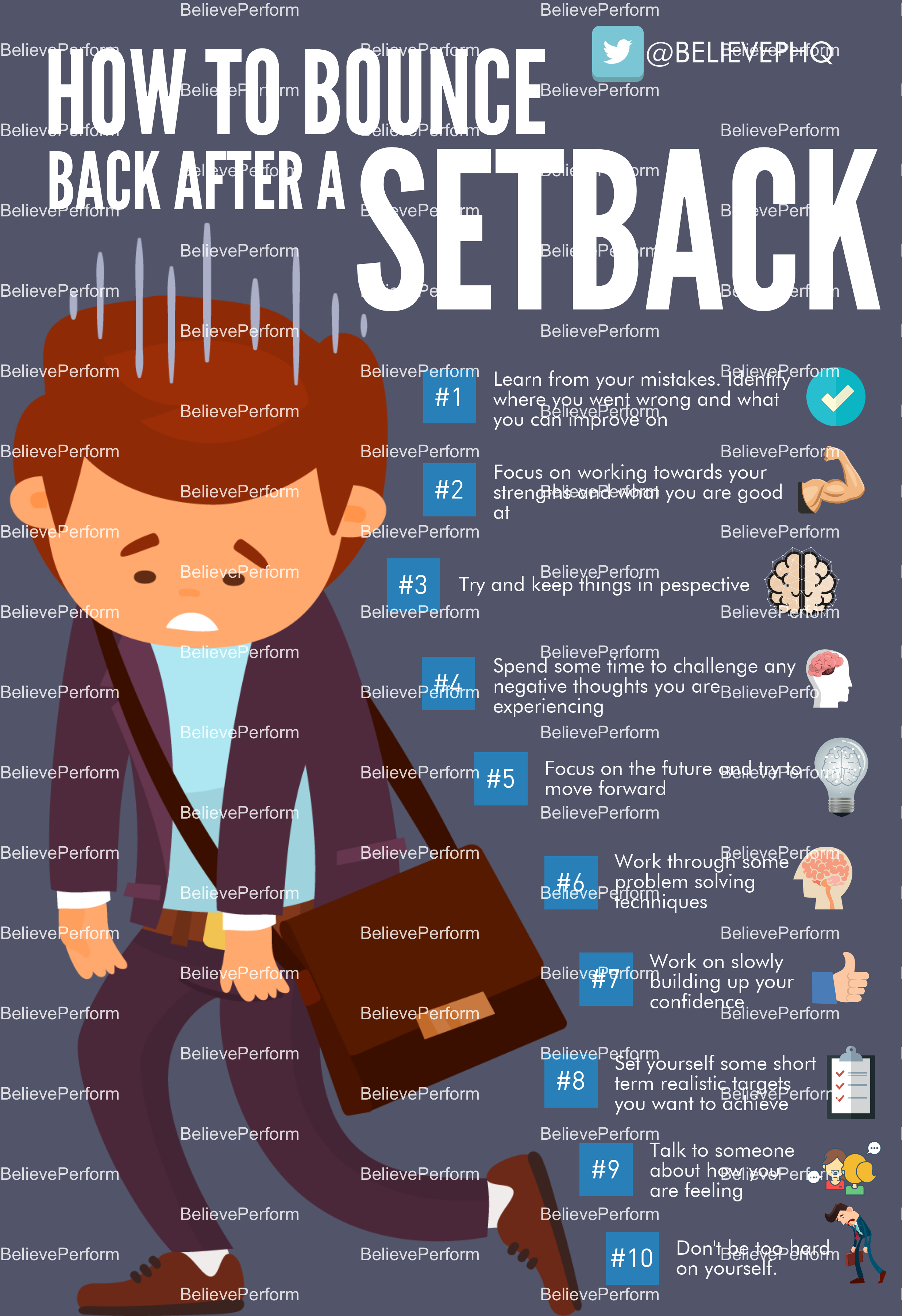 How to bounce back after a setback