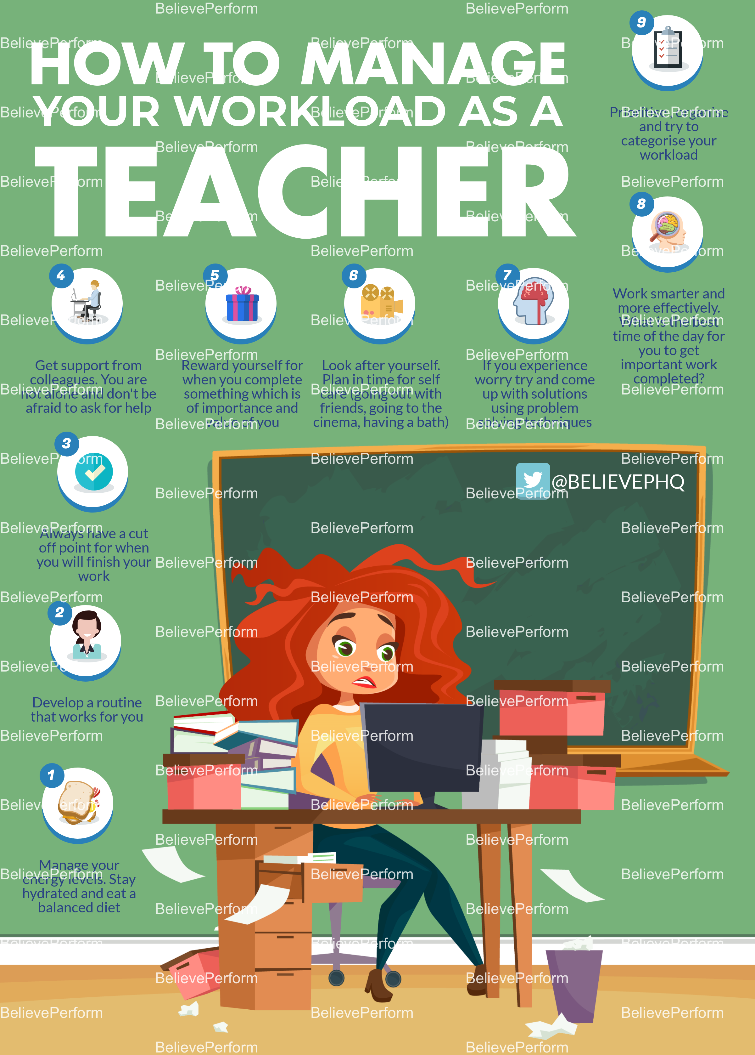 How to manage your workload as a teacher