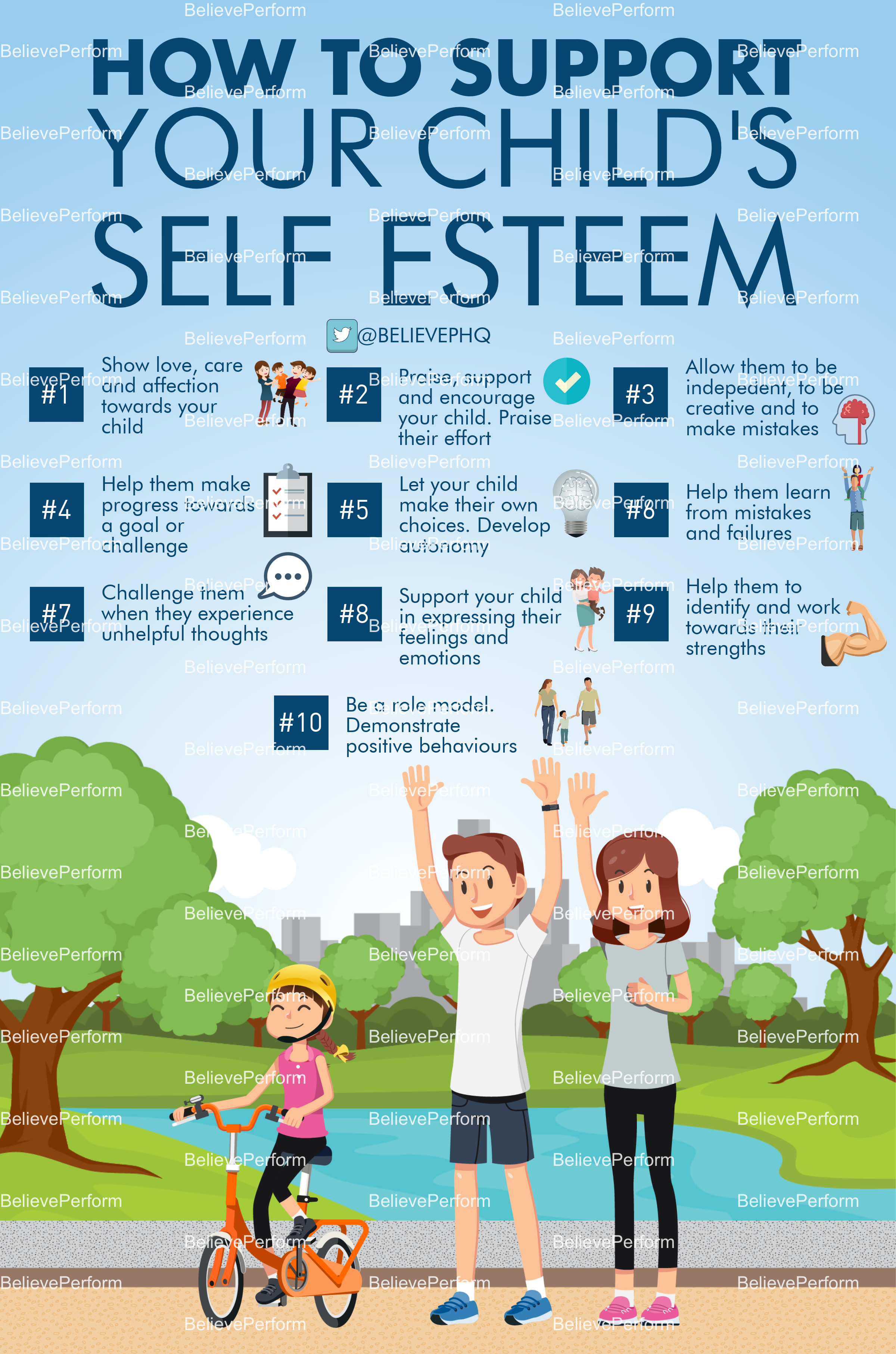 How to support your child's self esteem