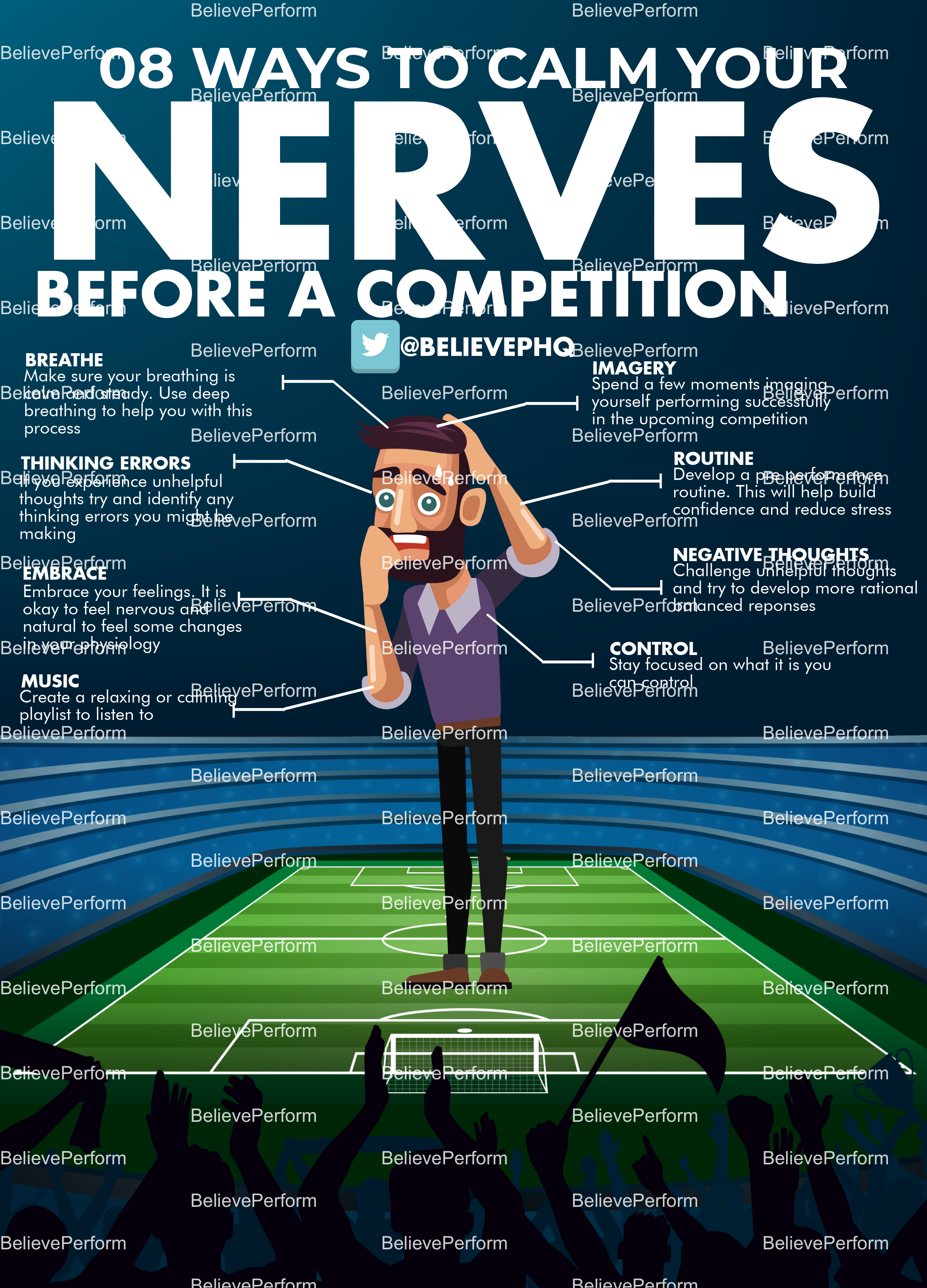 8 ways to calm your nerves before a competition