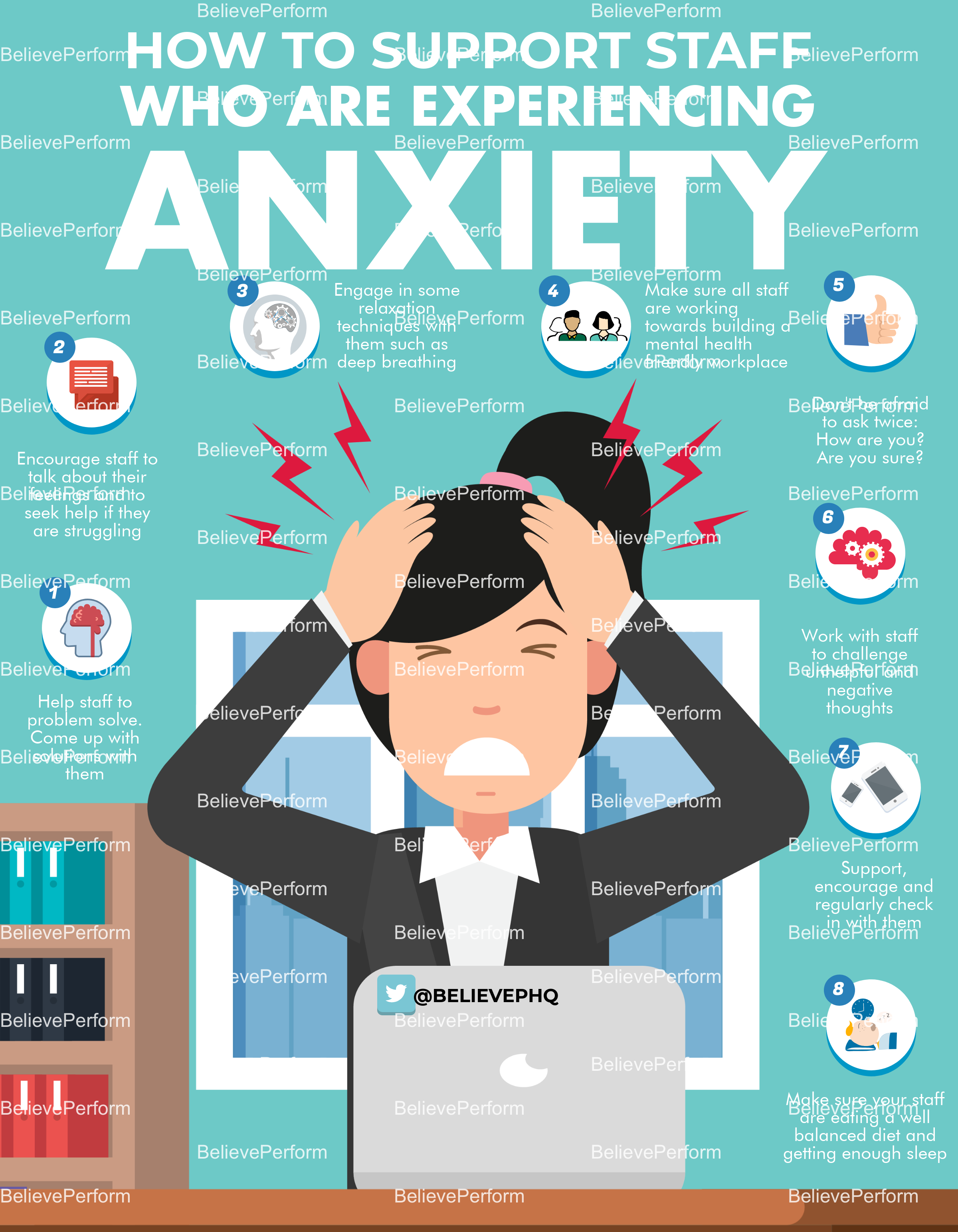 How to support staff who are experiencing anxiety