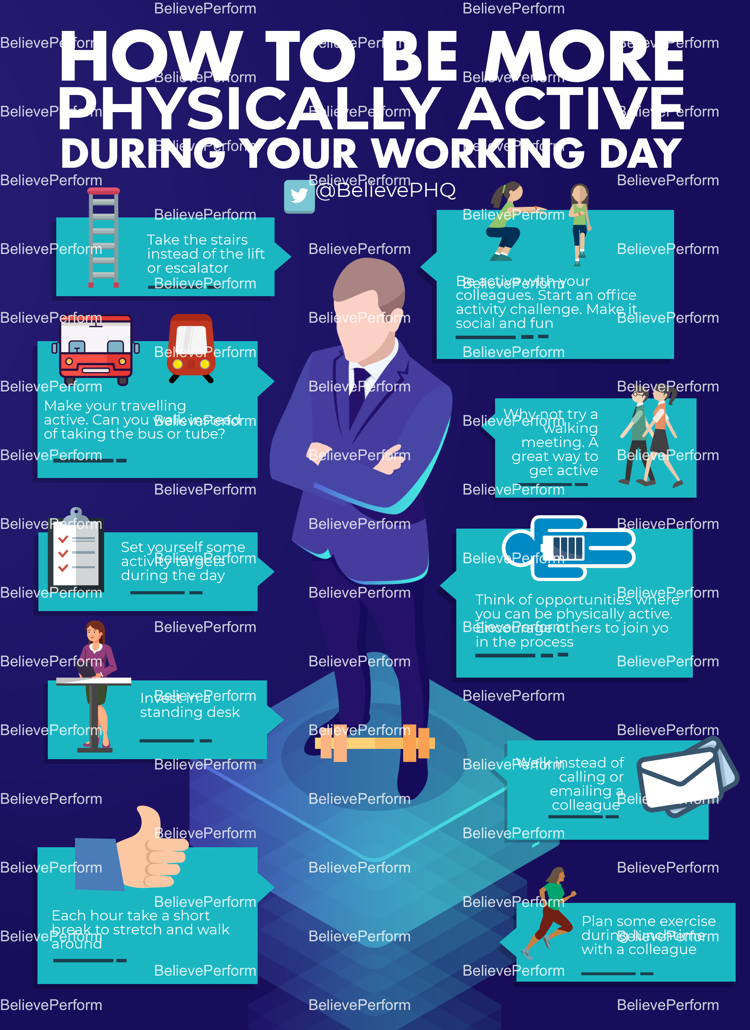 How to be more physically active during your working day