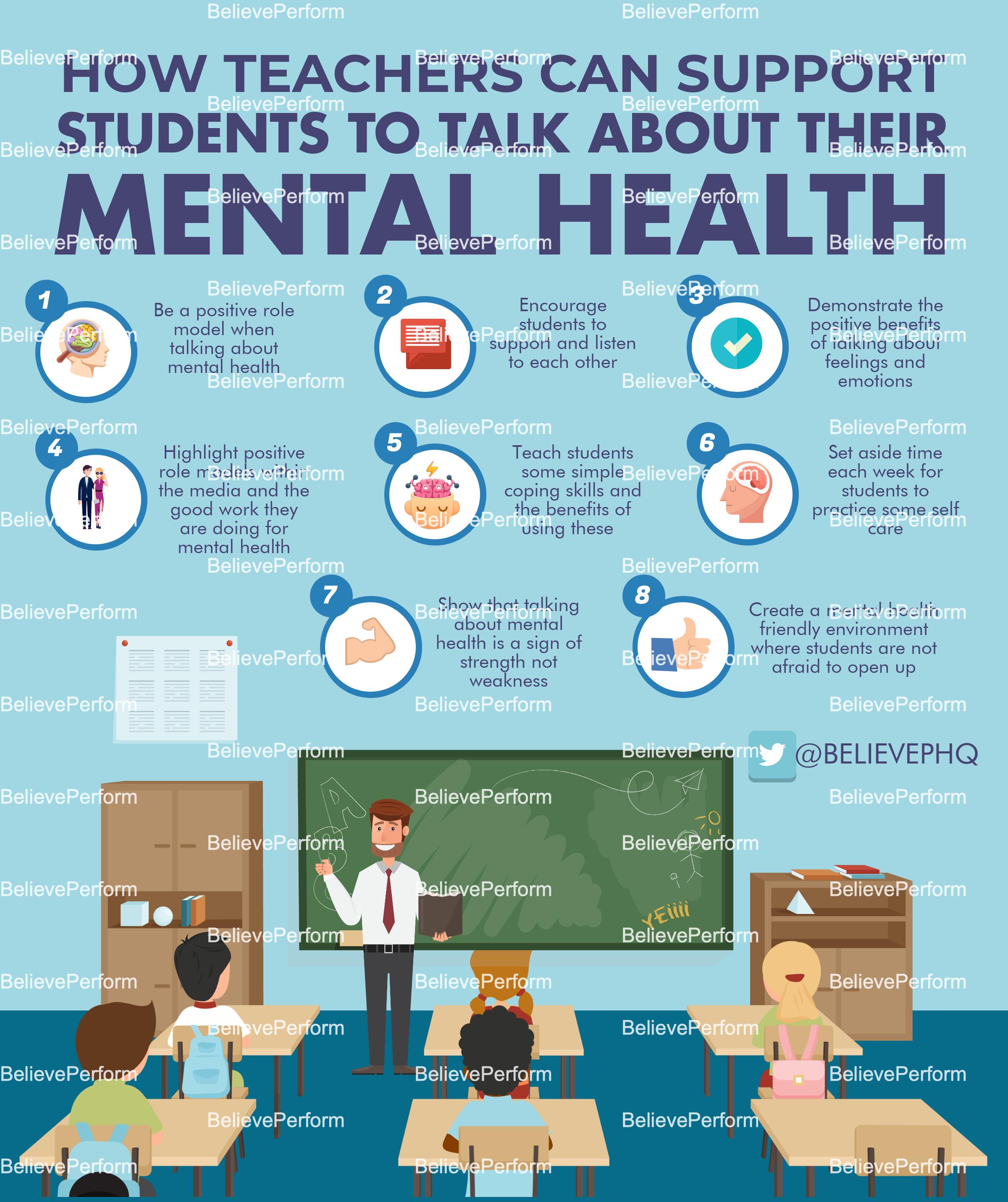 factors affecting mental health of teachers