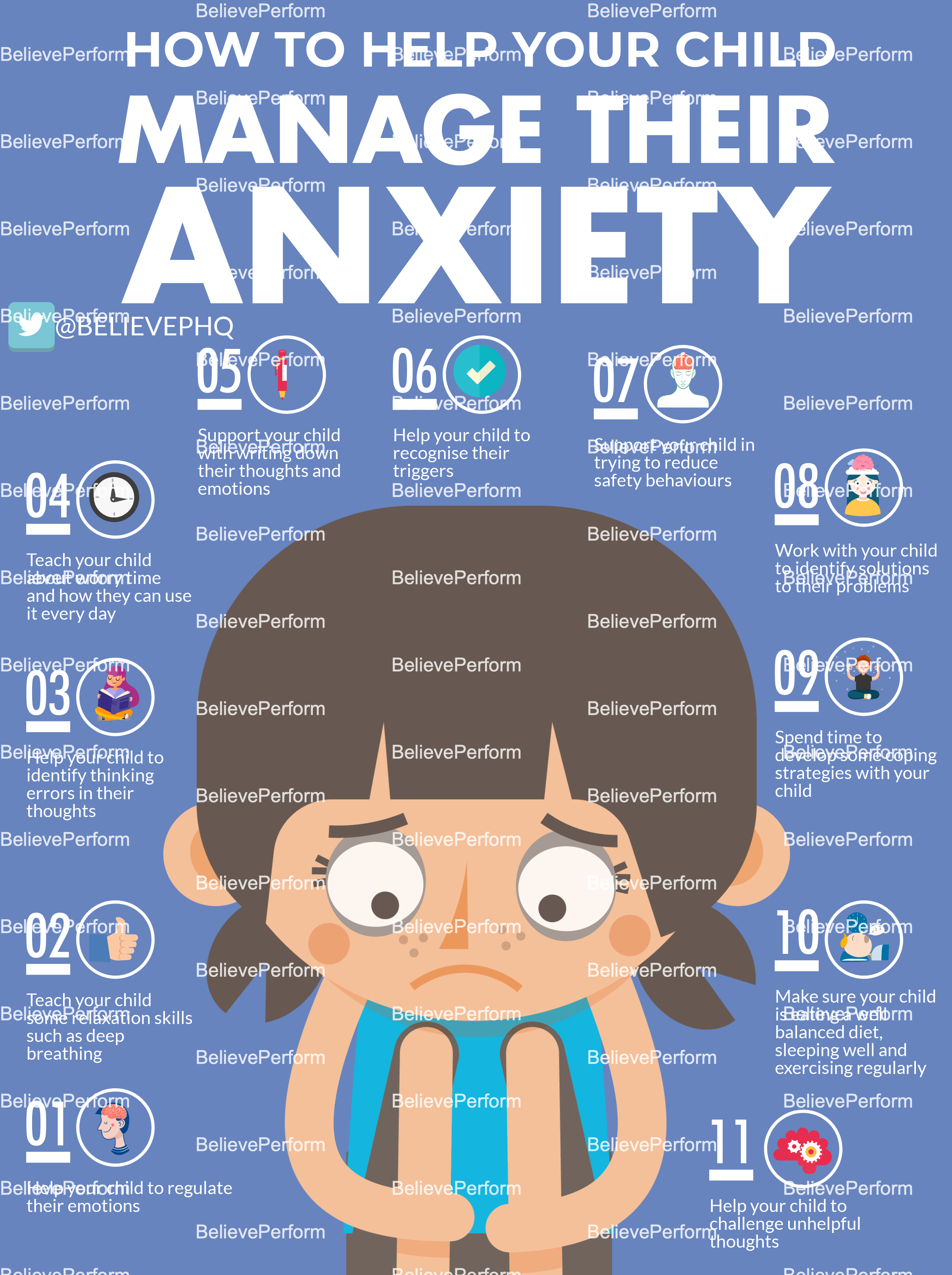 Help Your Child Manage Anxiety >> How To Help Your Child Manage Their Anxiety The Uk S Leading