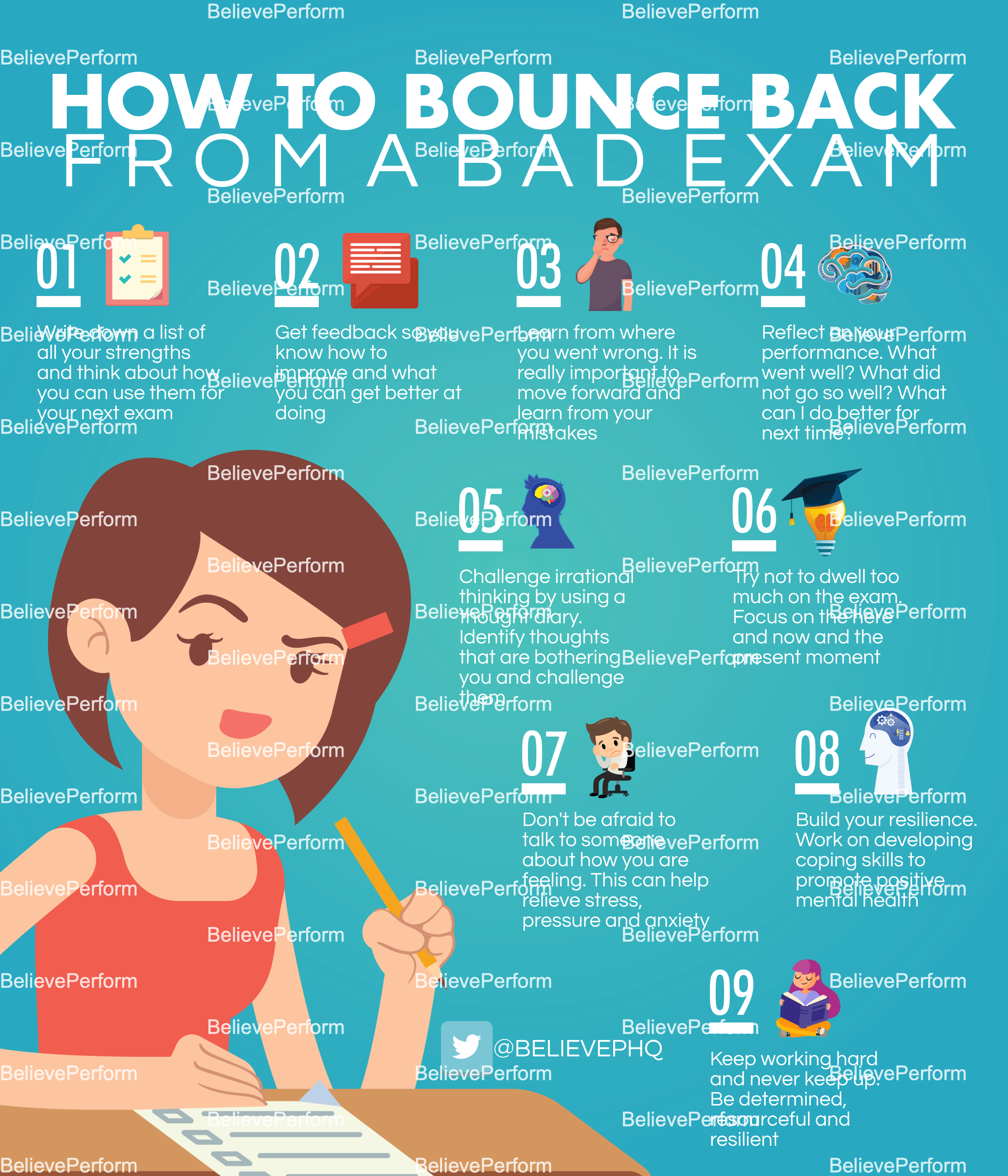 How to bounce back from a bad exam