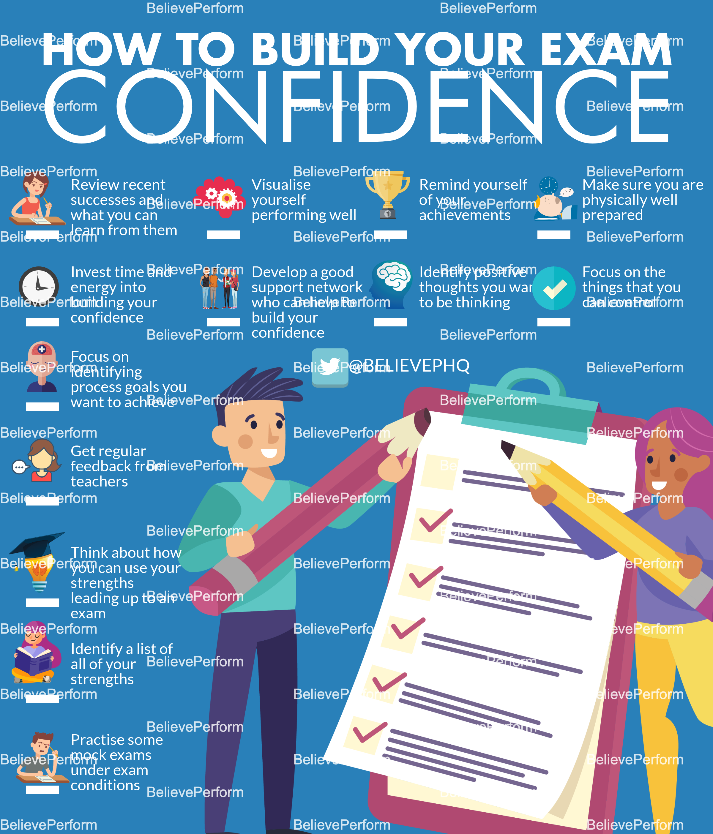 How to build your exam confidence