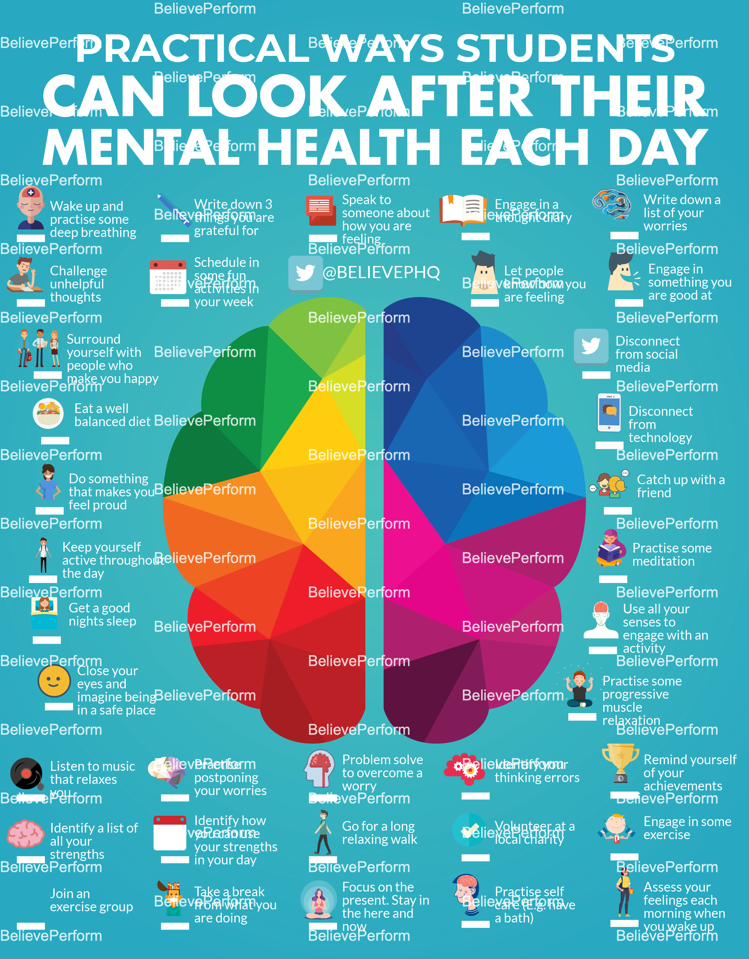 Practical ways students can look after their mental health each day
