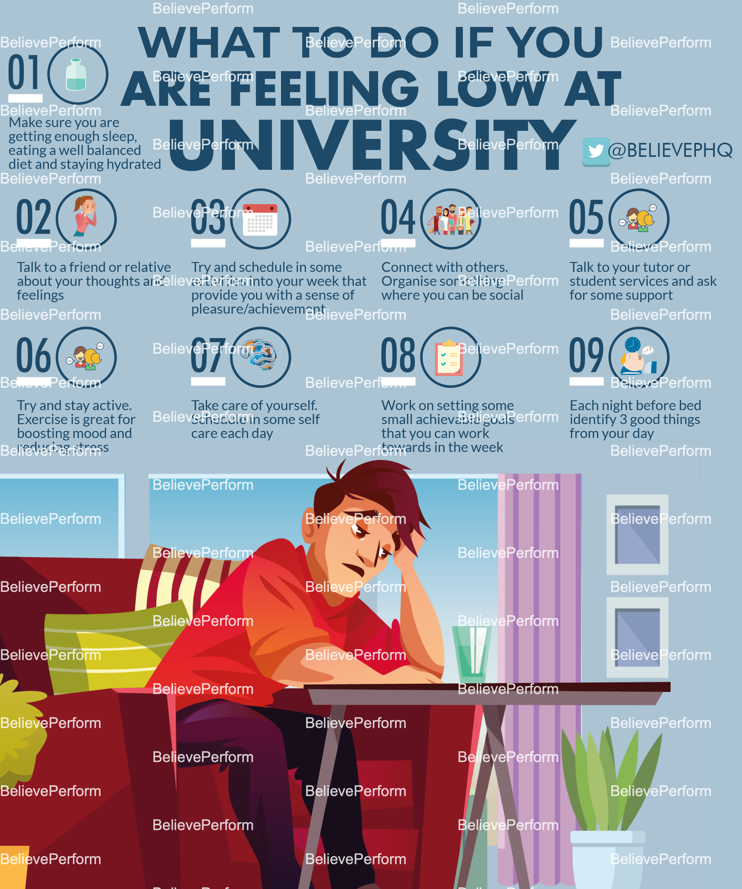 What to do if you are feeling low at university