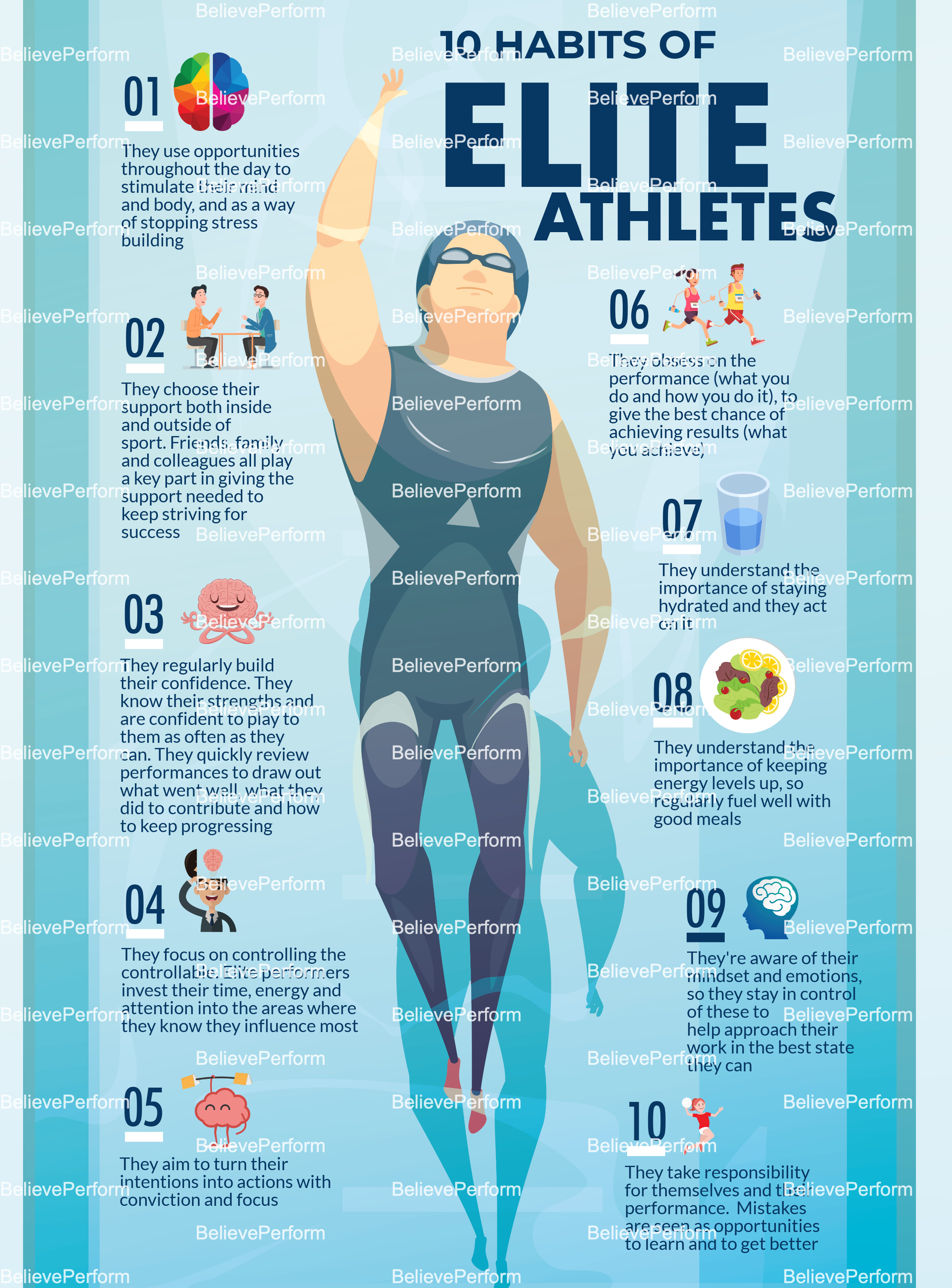 10 habits of elite athletes