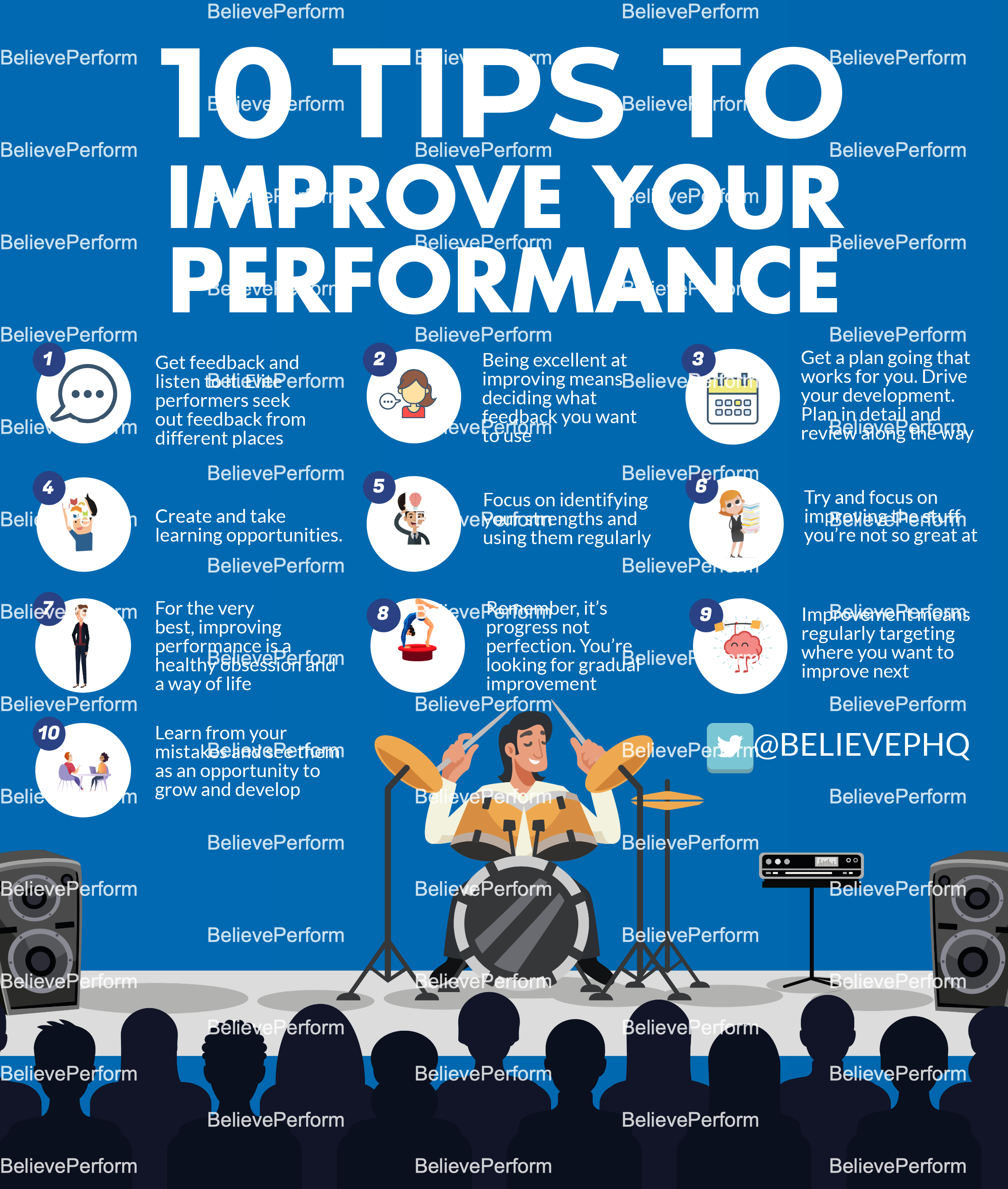 10 tips to improve your performance