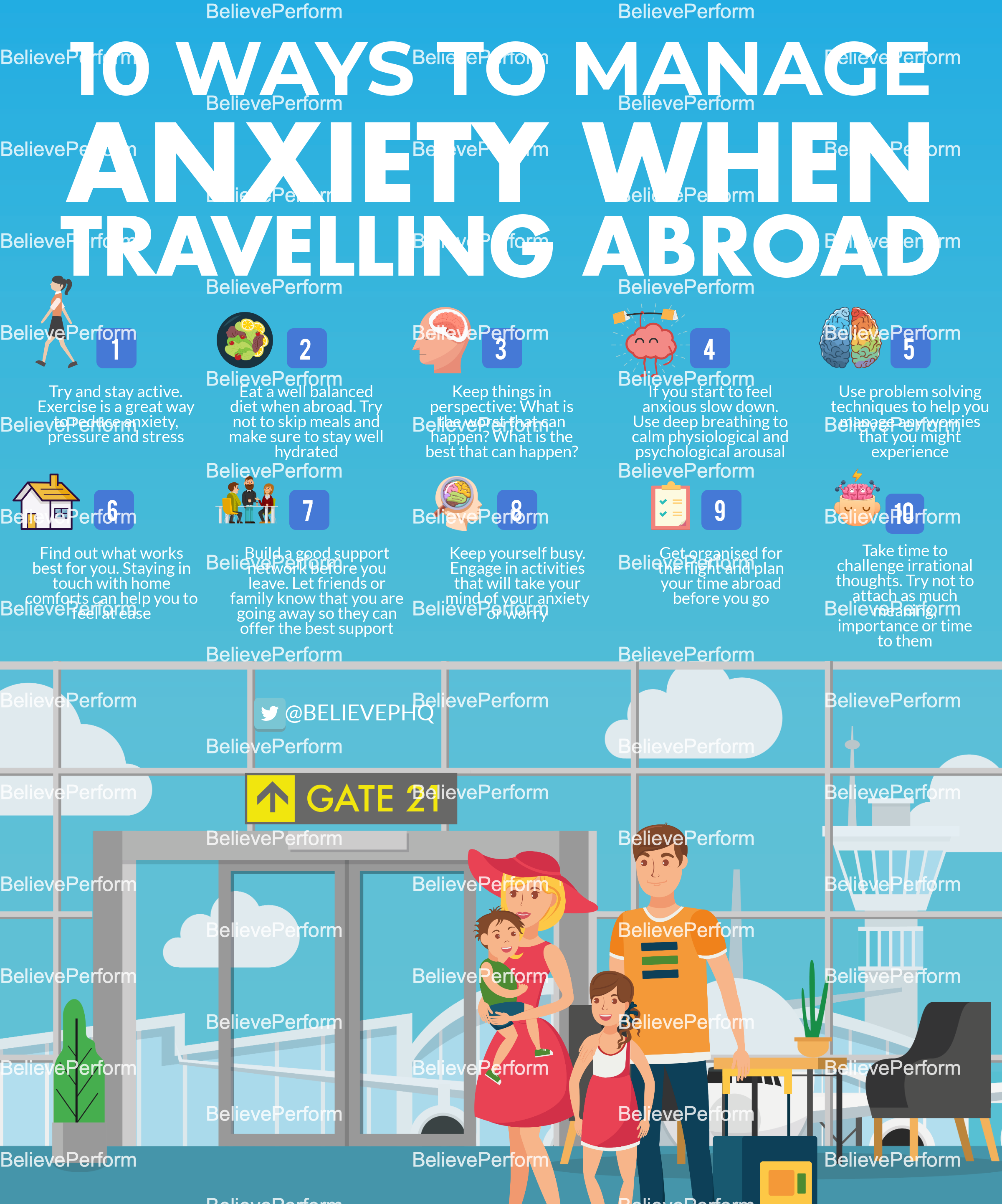 10 ways to manage anxiety when travelling abroad
