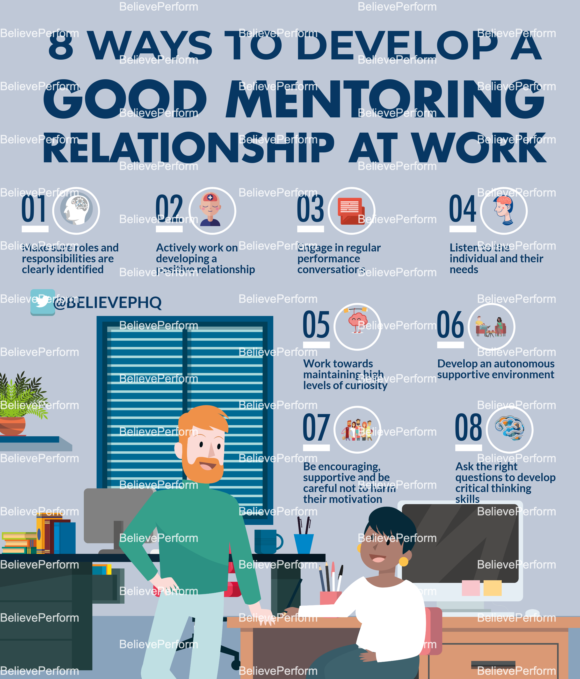8 ways to develop a good mentoring relationship at work