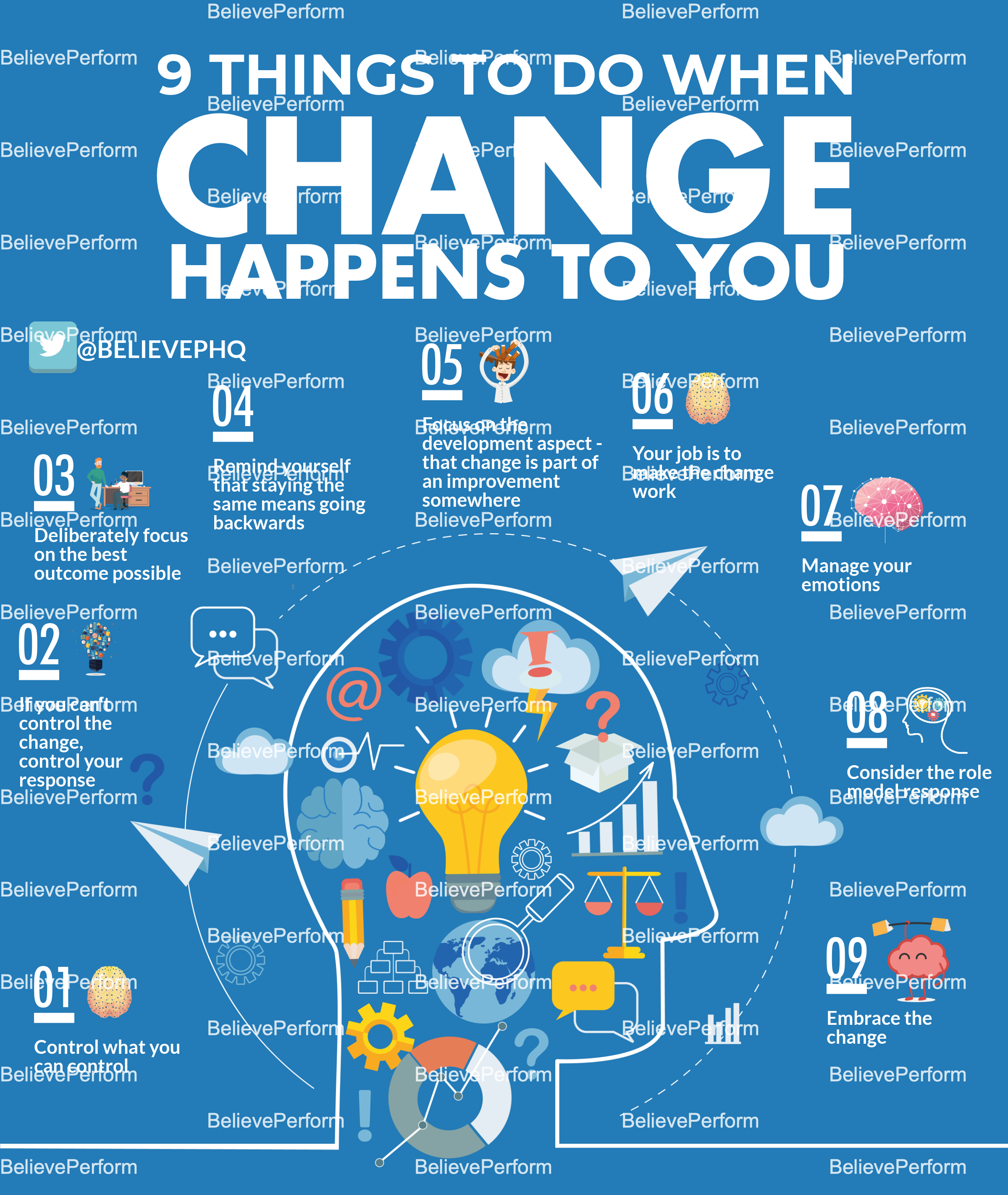 9 things to do when change happens to you