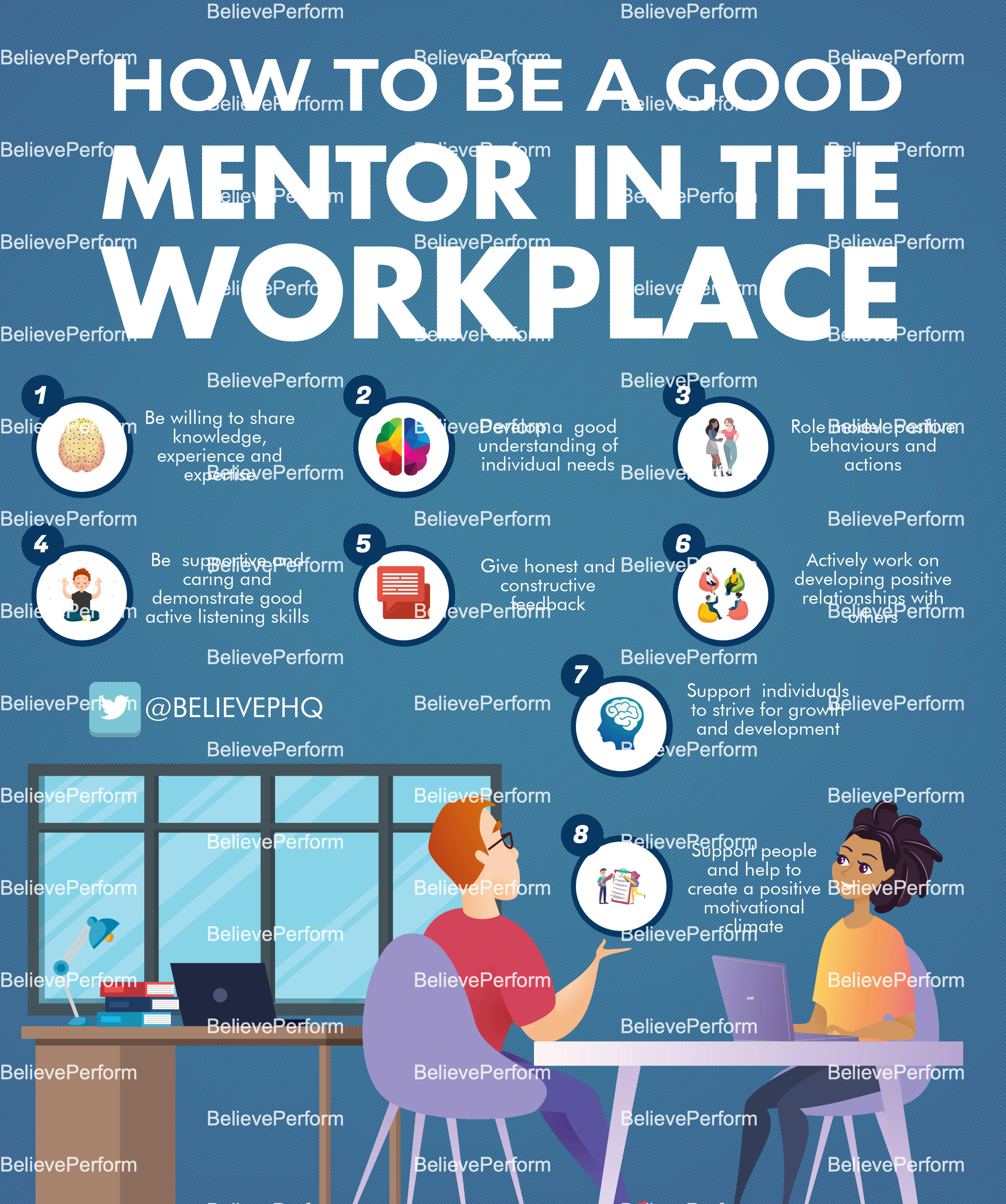 How to be a good mentor in the workplace