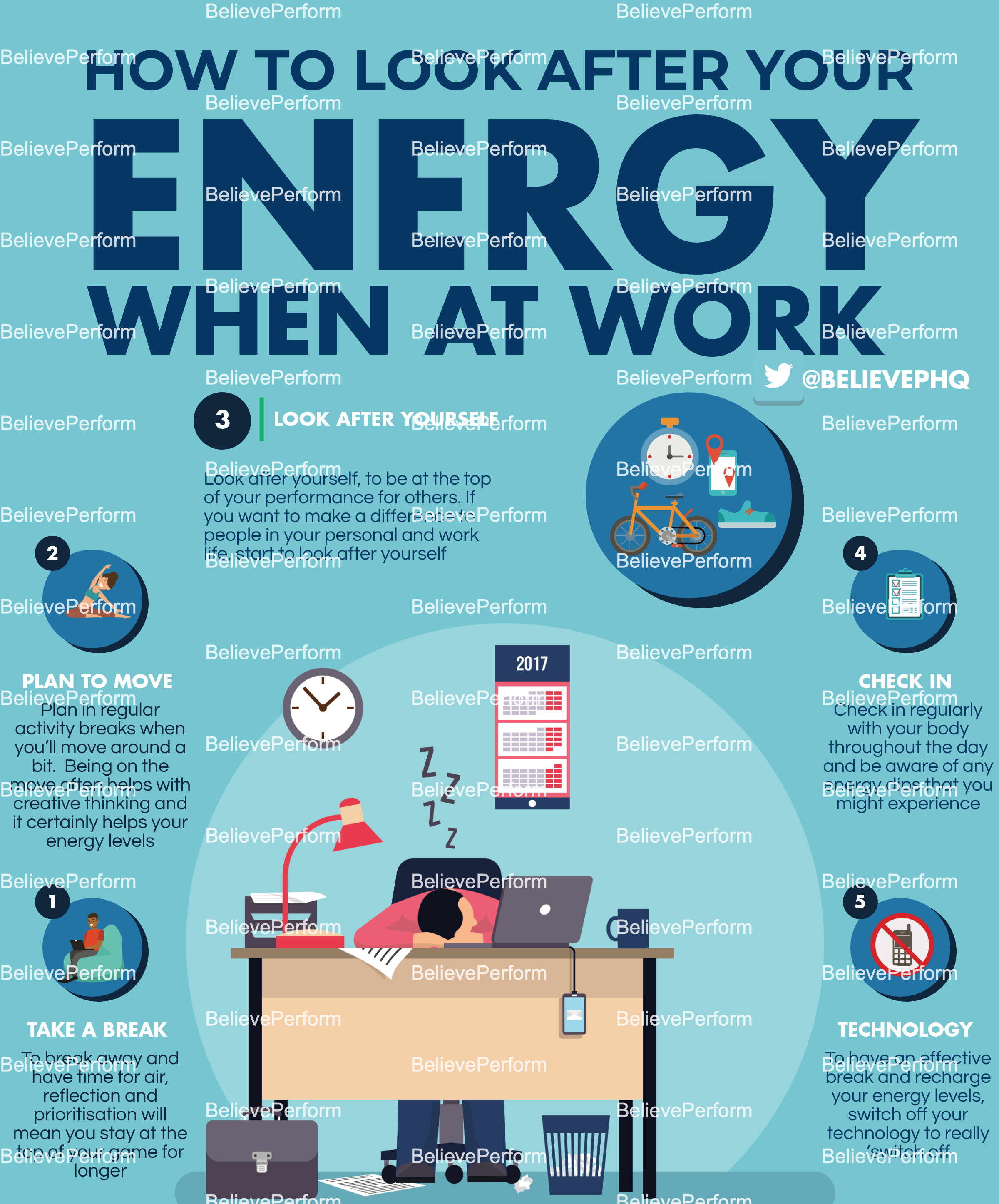 How to look after your energy when at work