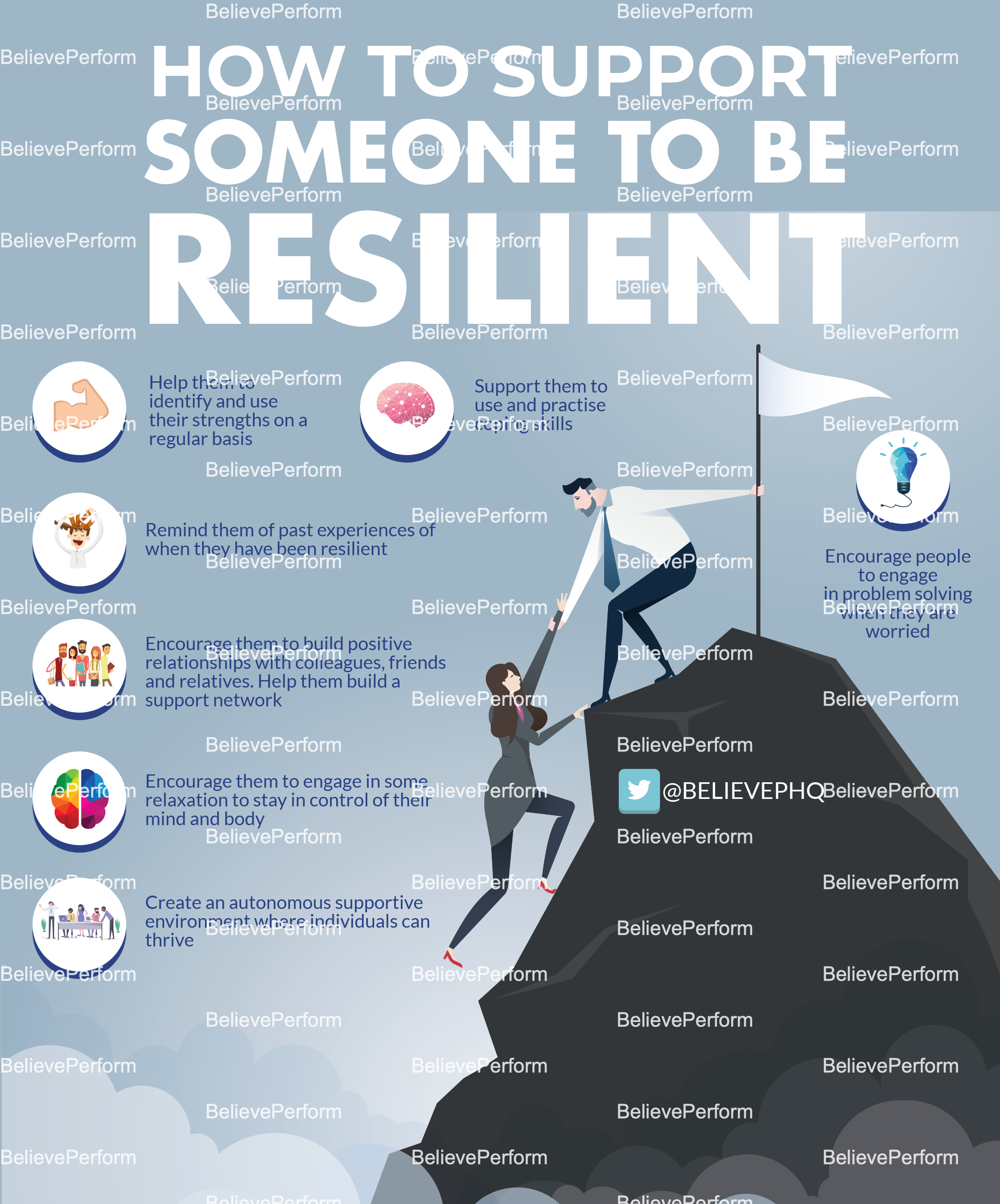 How to support someone to be resilient