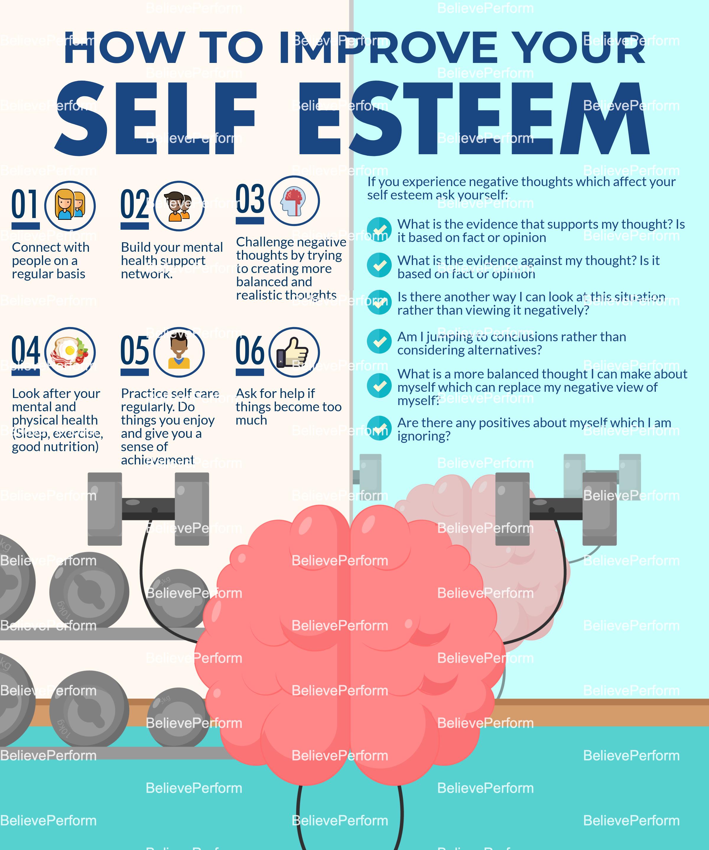 How to improve your self esteem - The UKs leading Sports
