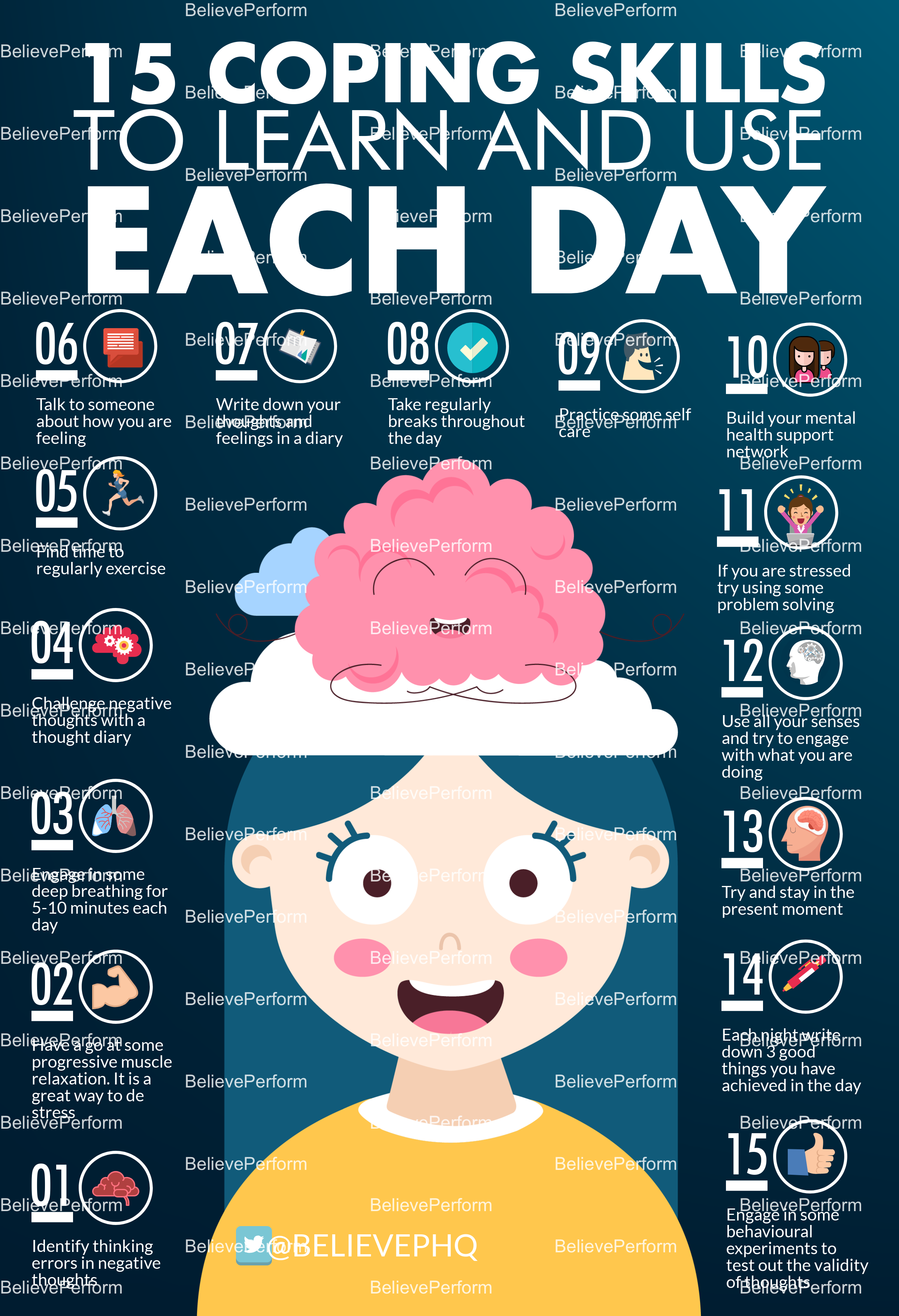 15 coping skills to learn and use each day ...