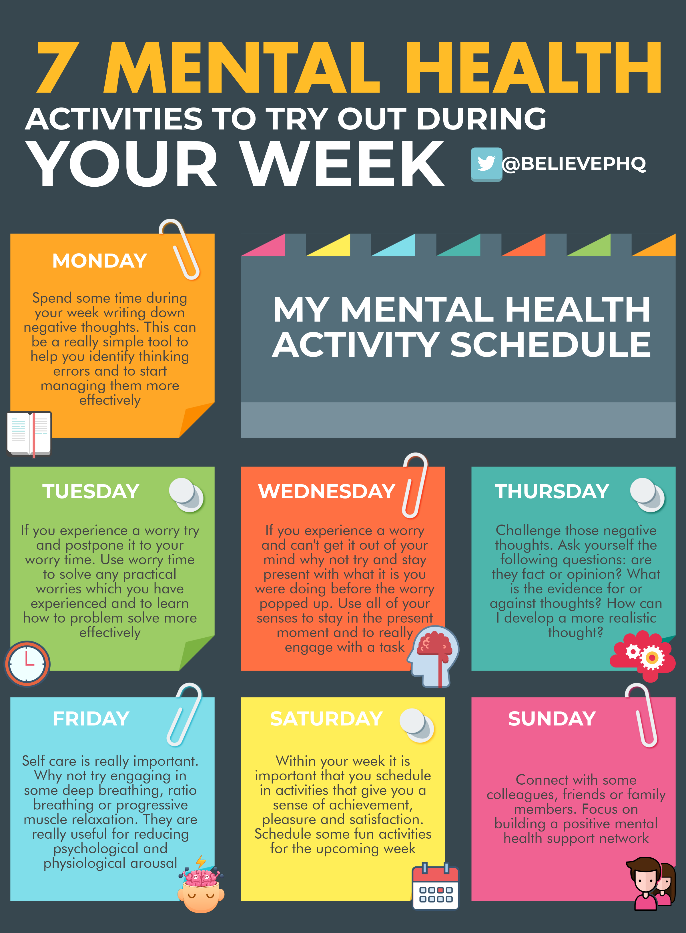7 mental health activities to try out during the week ...