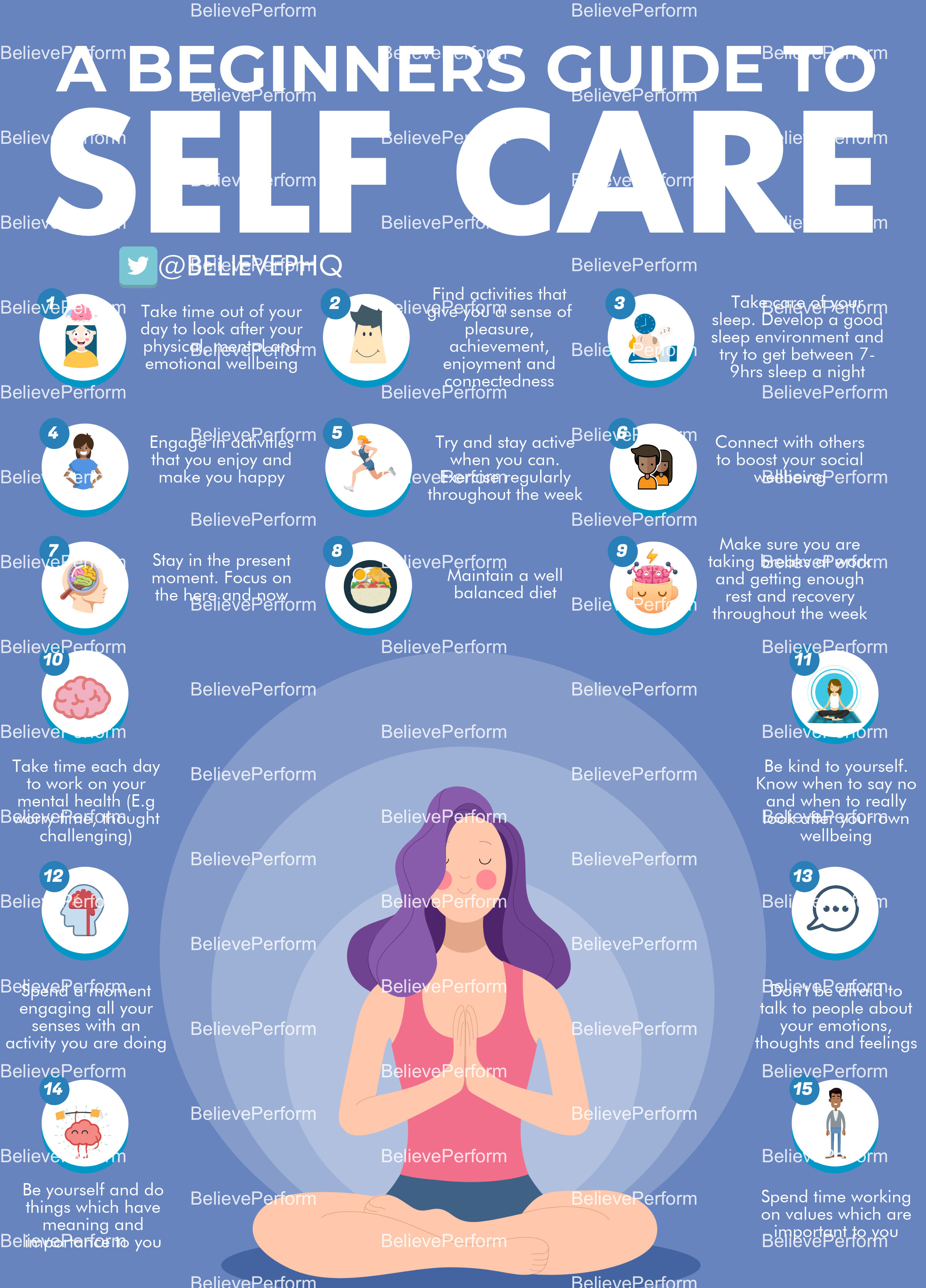 A beginners guide to self care - BelievePerform - The UK's ...