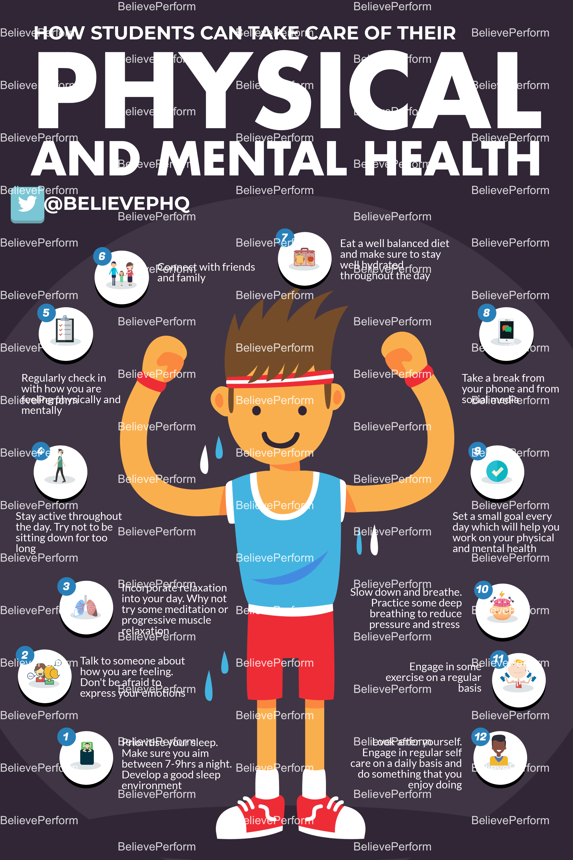 How students can take care of their physical and mental