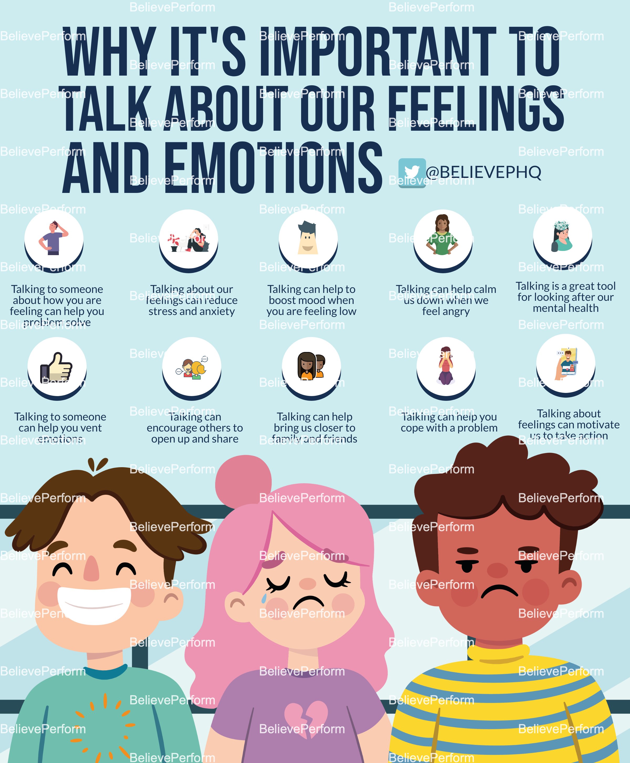 Why its important to talk about our feelings and emotions